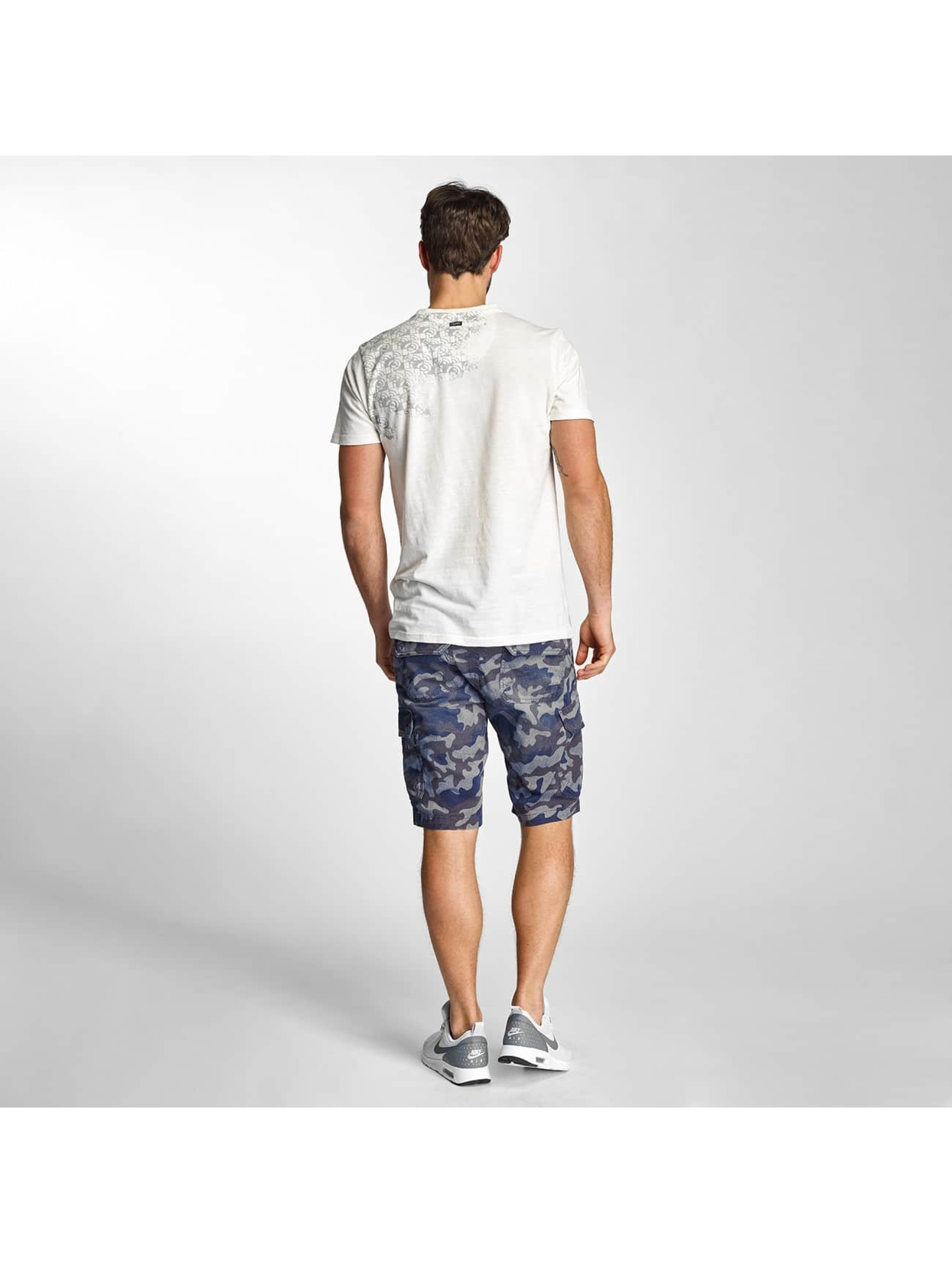 Petrol Industries Short Camouflage blue