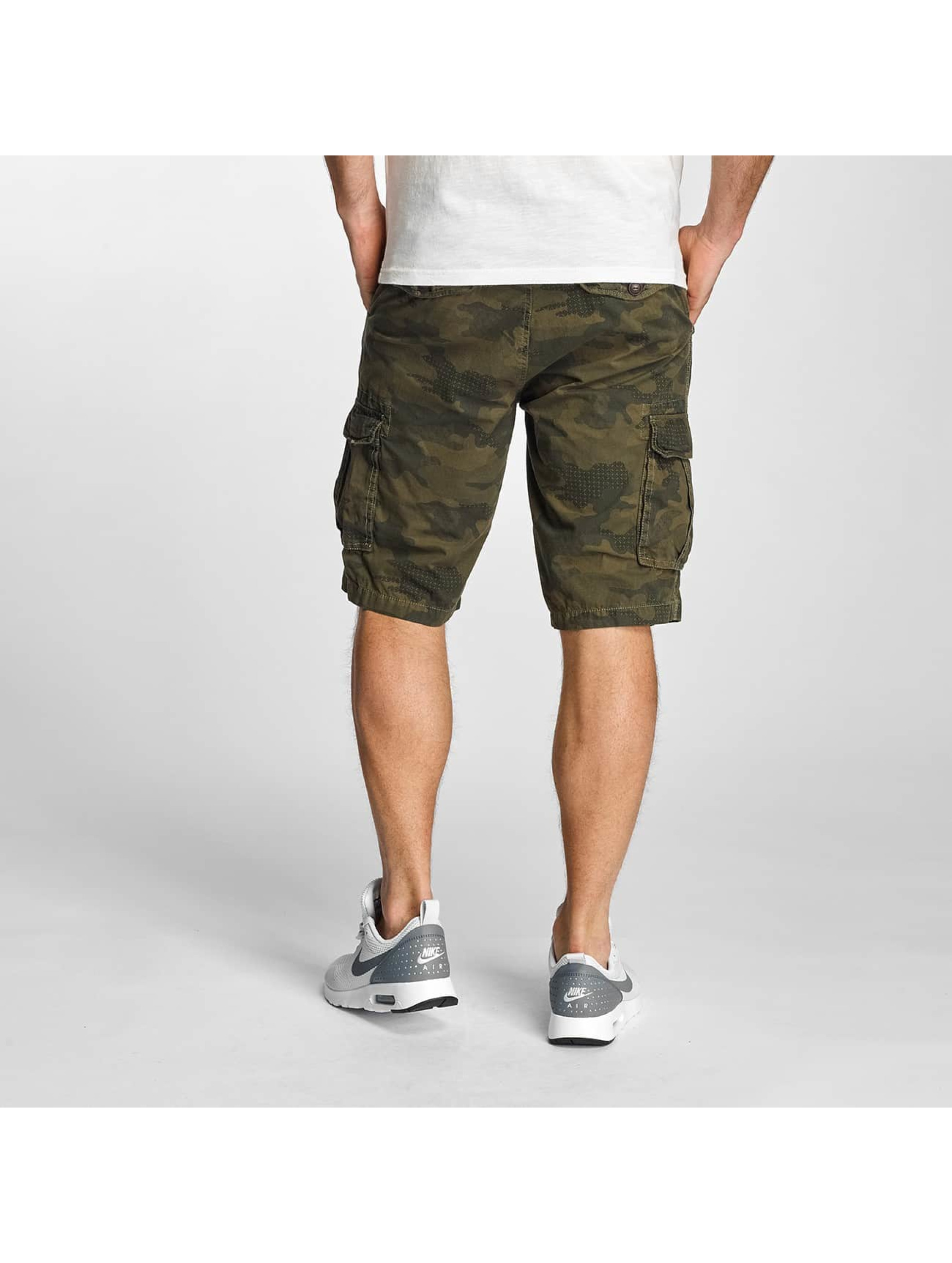 Petrol Industries Short camouflage olive