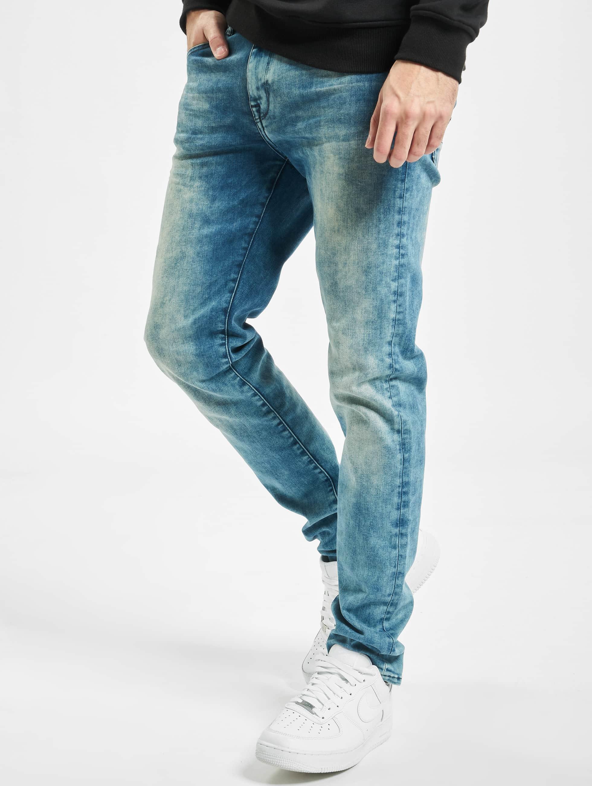 Petrol Industries Skinny jeans Seaham blauw