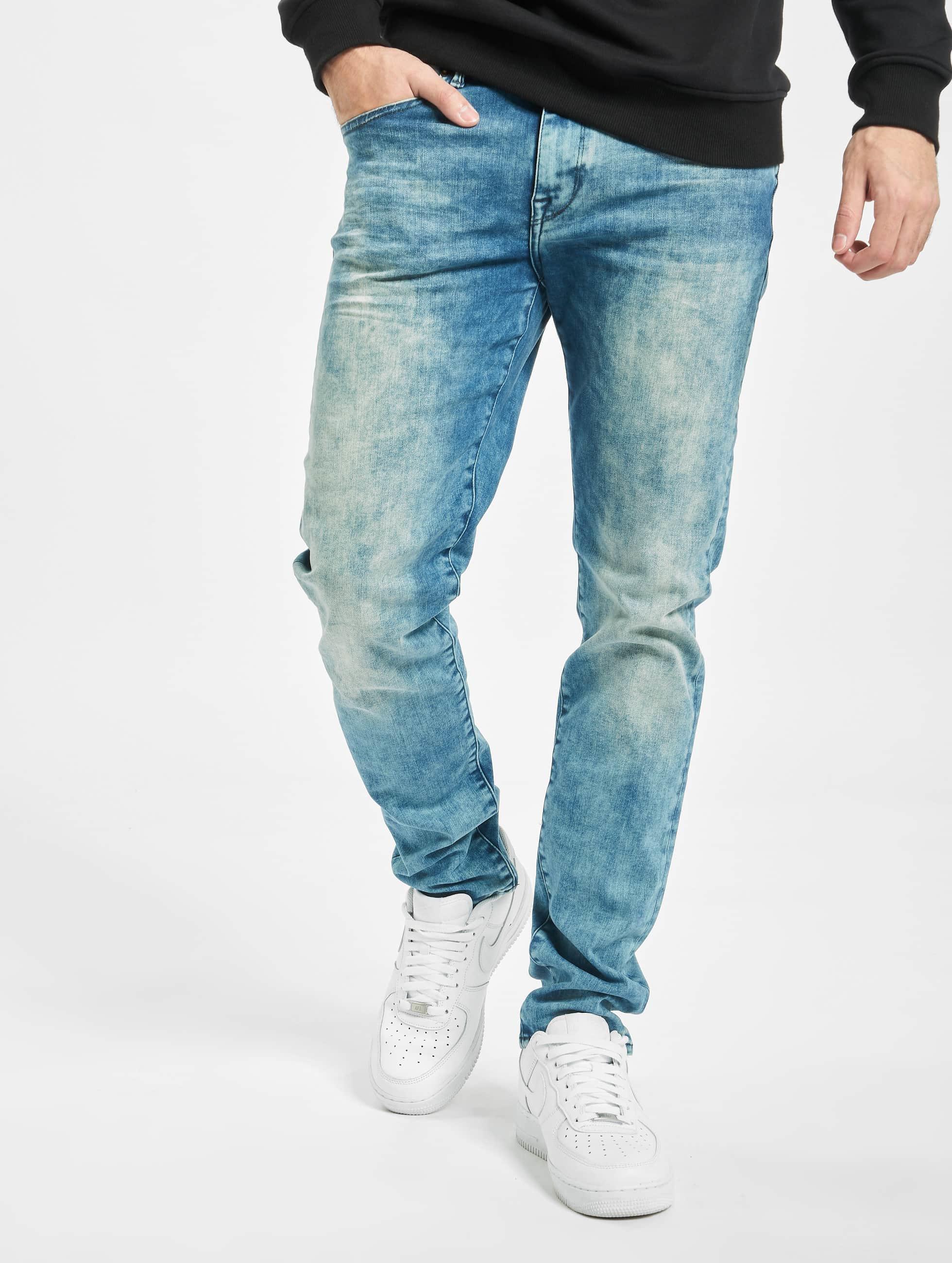 Petrol Industries Slim Fit Jeans Seaham синий