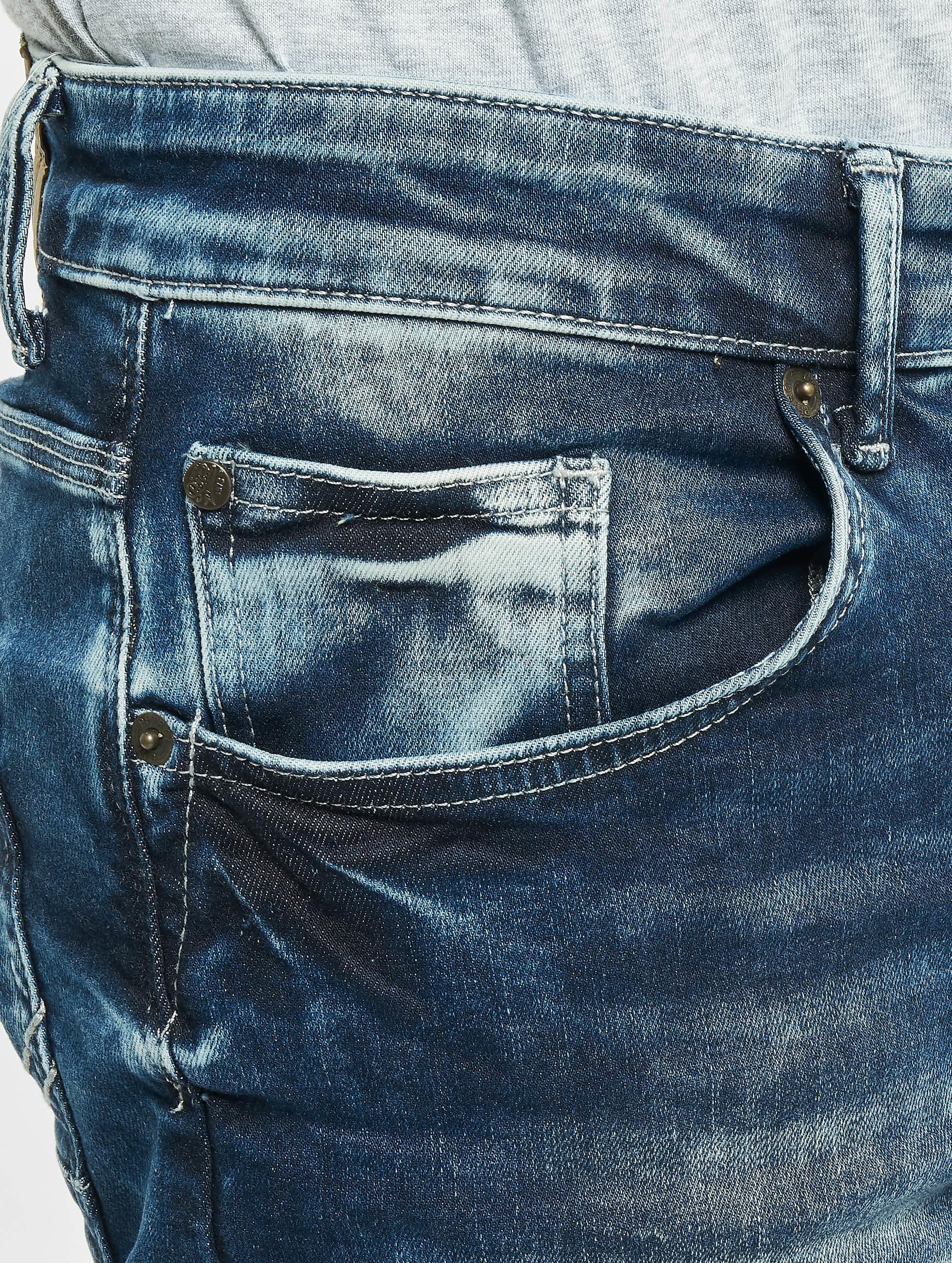 Petrol Industries Slim Fit Jeans Seaham blau