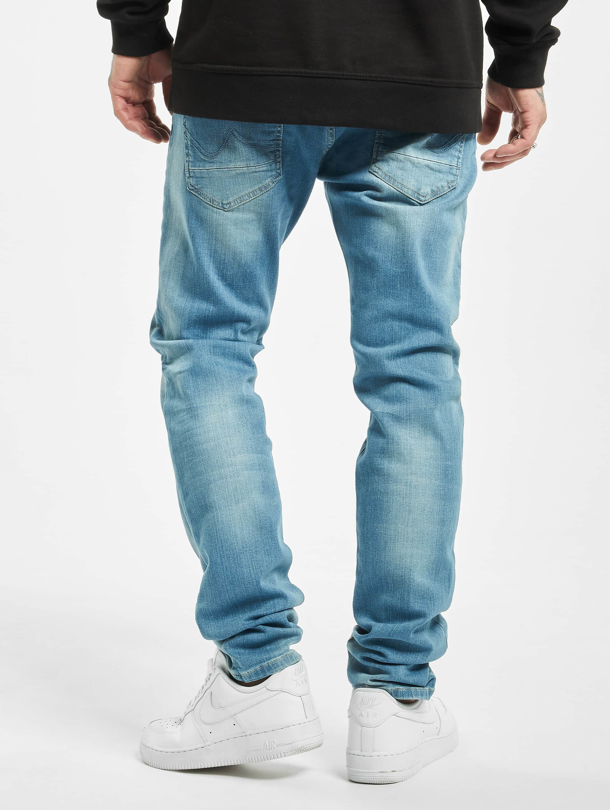 Petrol Industries Straight Fit Jeans Sherman blå