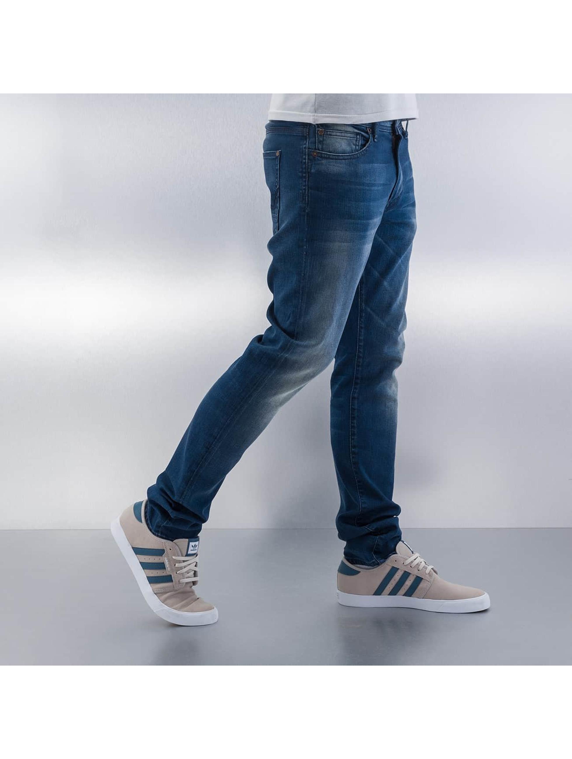 Petrol Industries Straight Fit Jeans Sherman blå