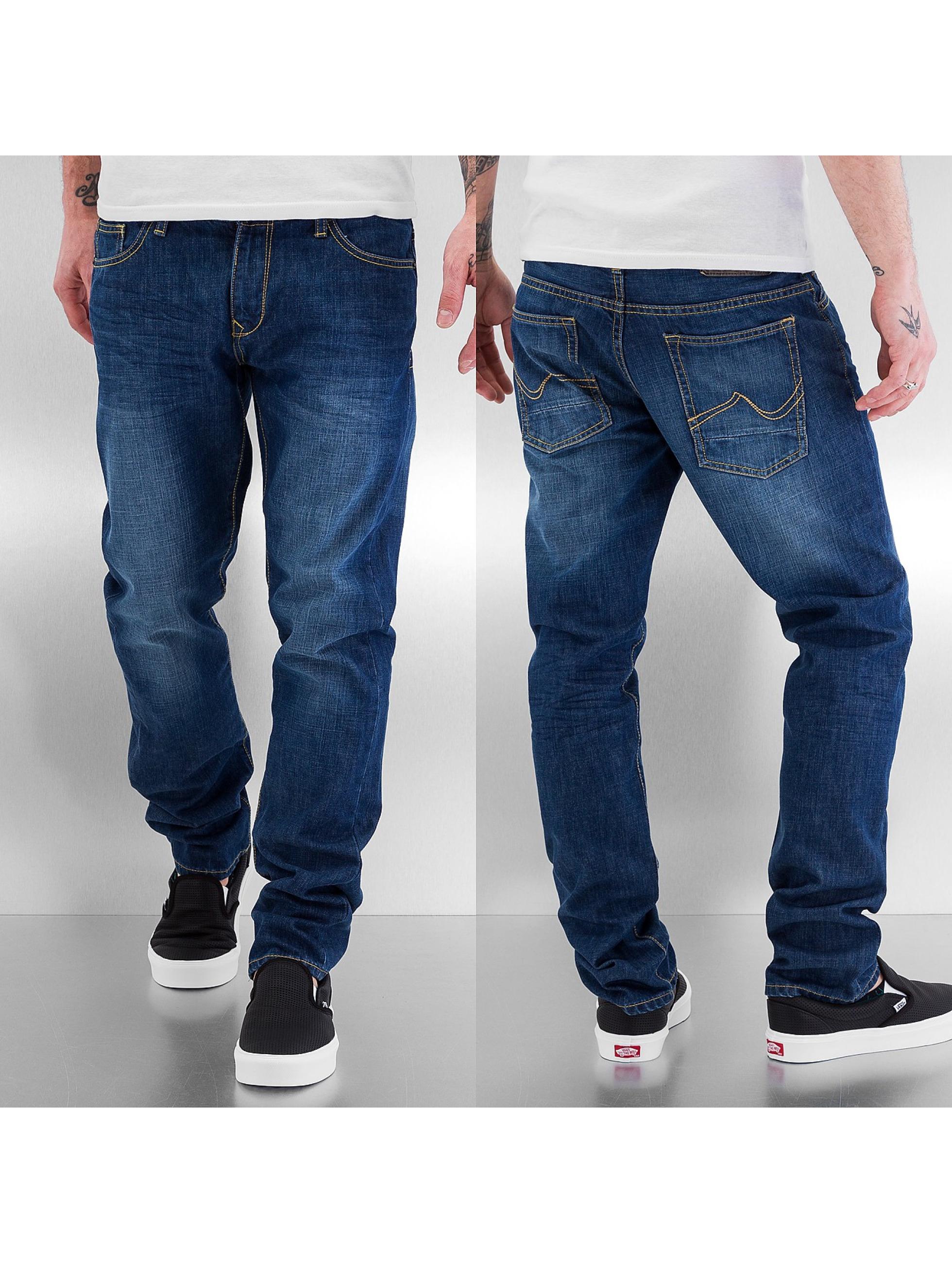 Petrol Industries Straight Fit Jeans Reeve blau
