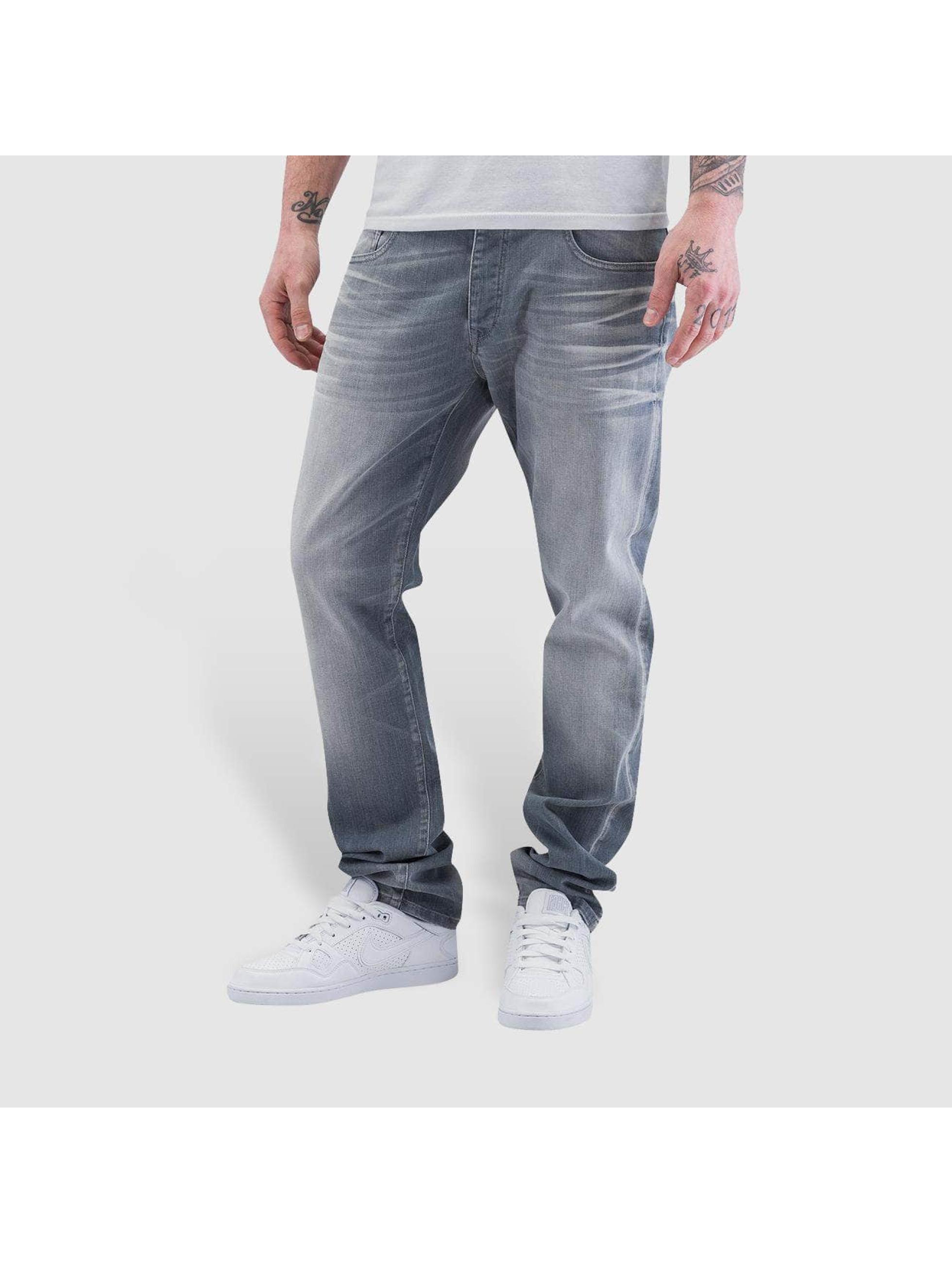 Petrol Industries Straight Fit Jeans Turner grå