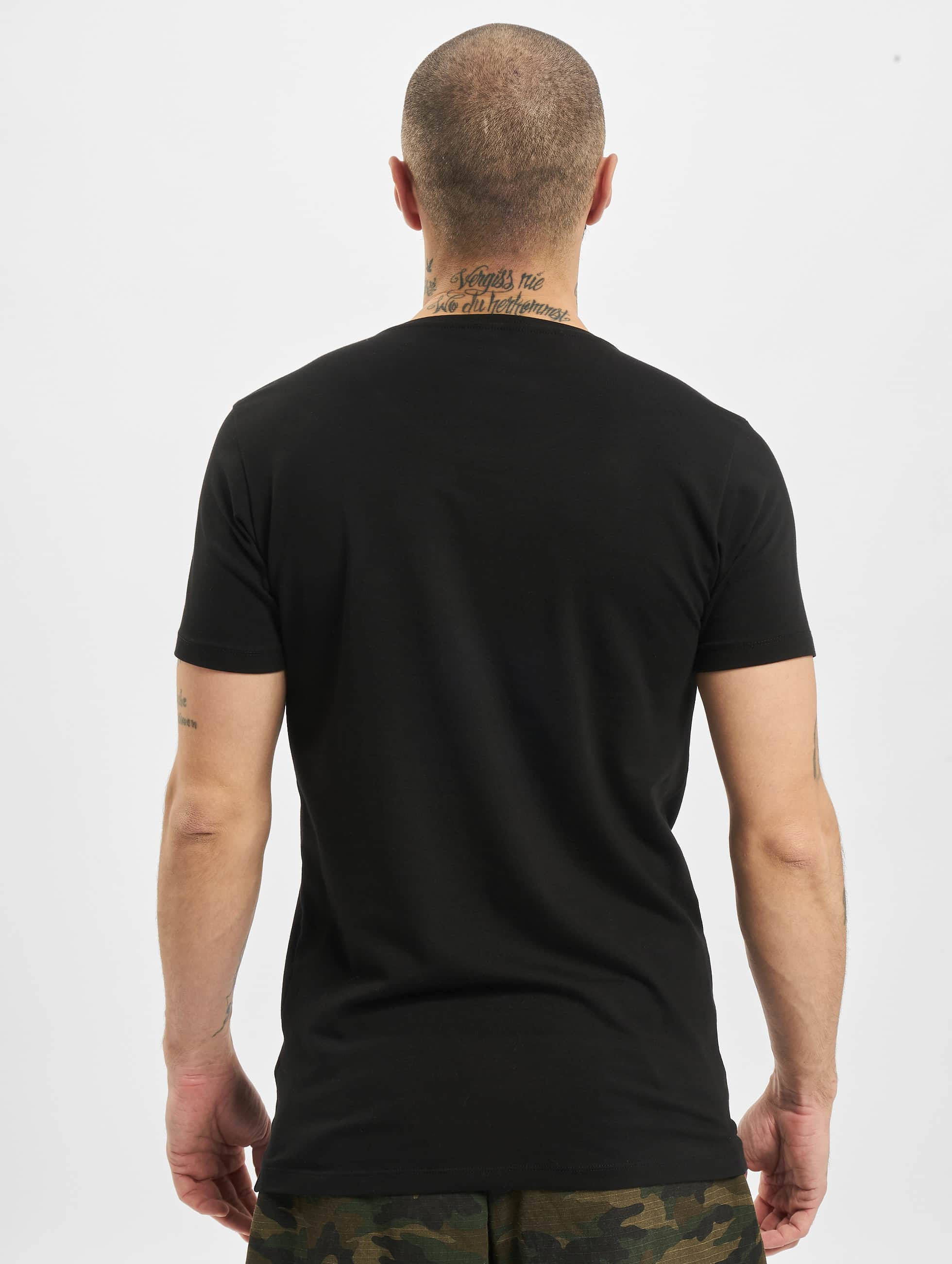 Petrol Industries T-shirt odyfit Basic 2 Pack svart