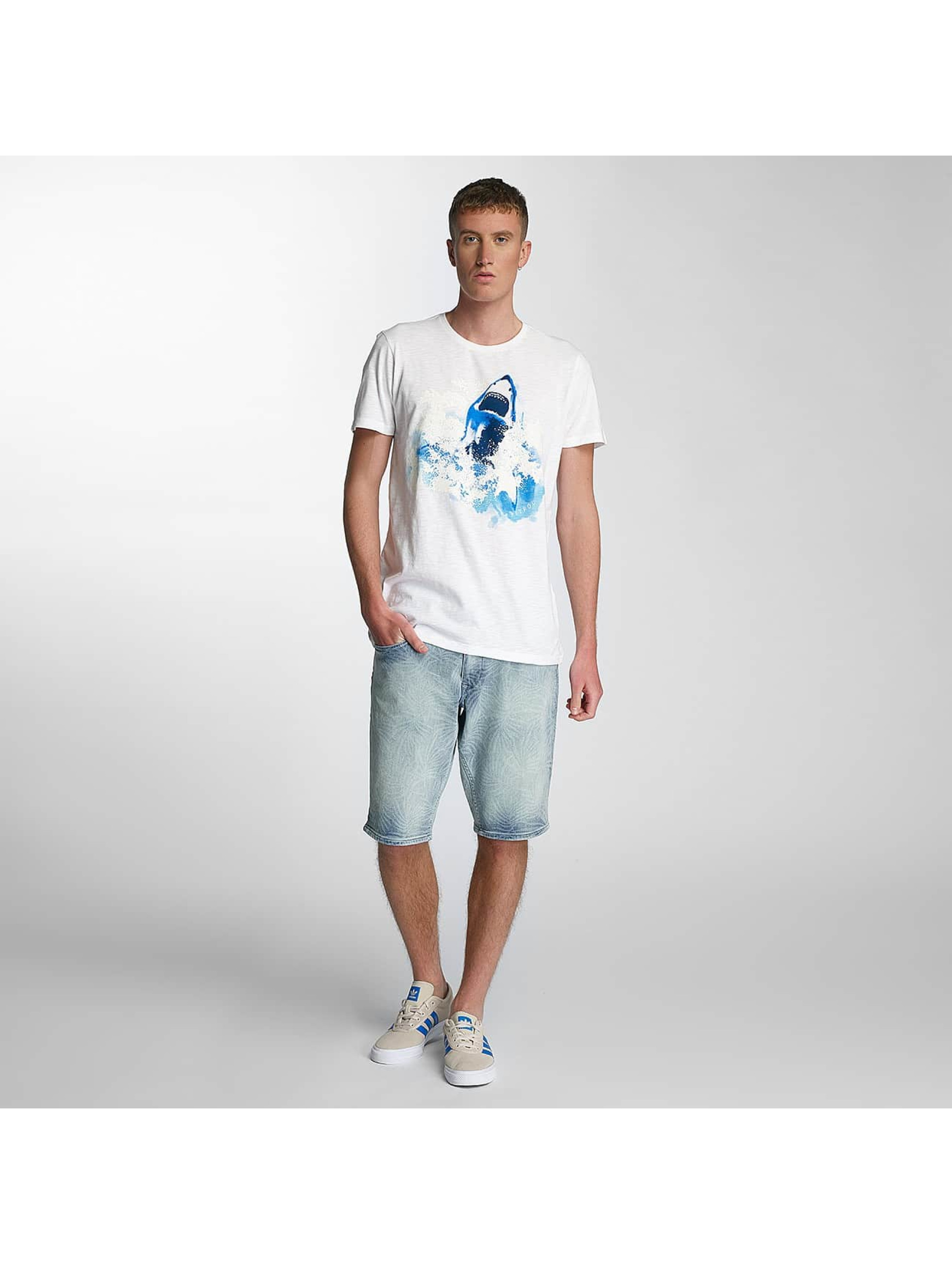 Petrol Industries T-Shirt Shark white