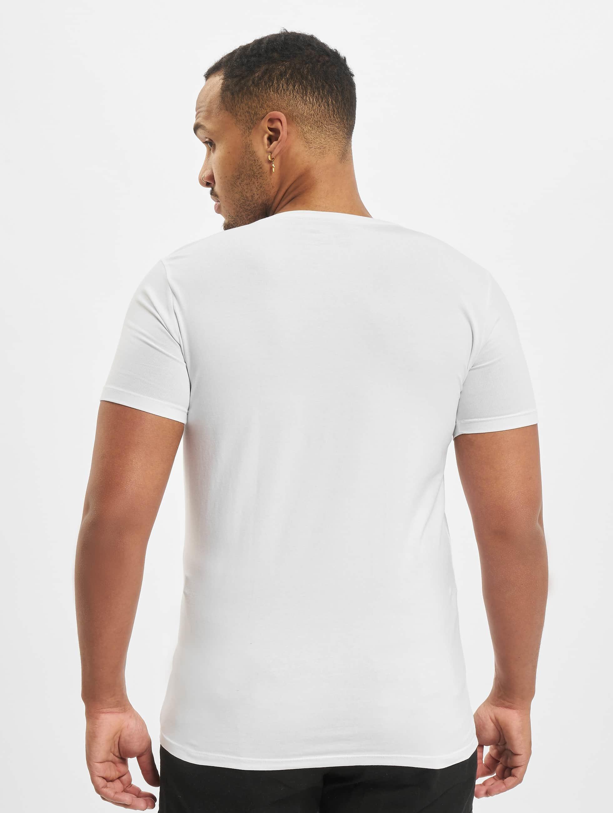 Petrol Industries Tričká Bodyfit Basic 2 Pack biela
