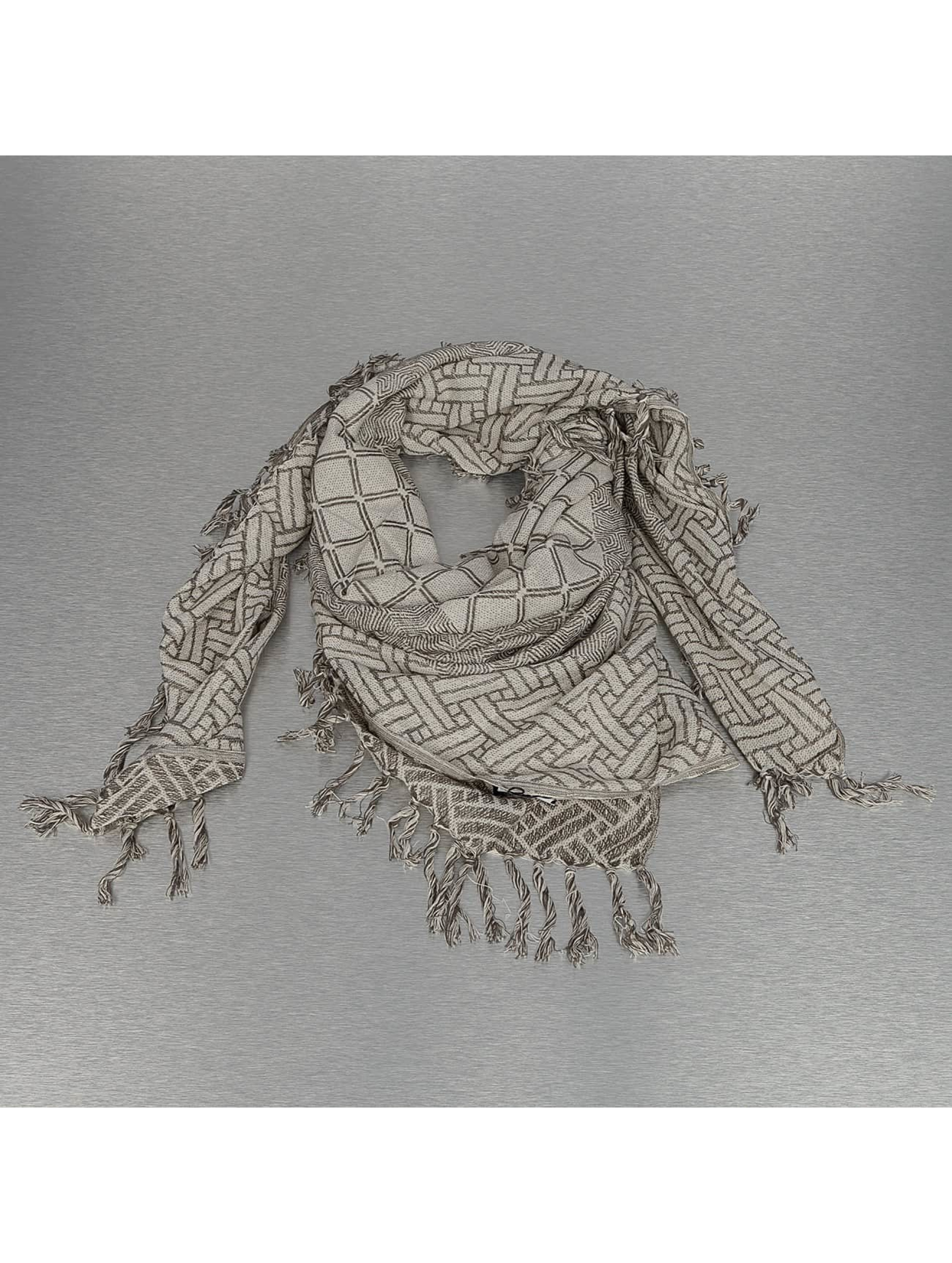 Pieces Шарф / платок pcPimus Square серый