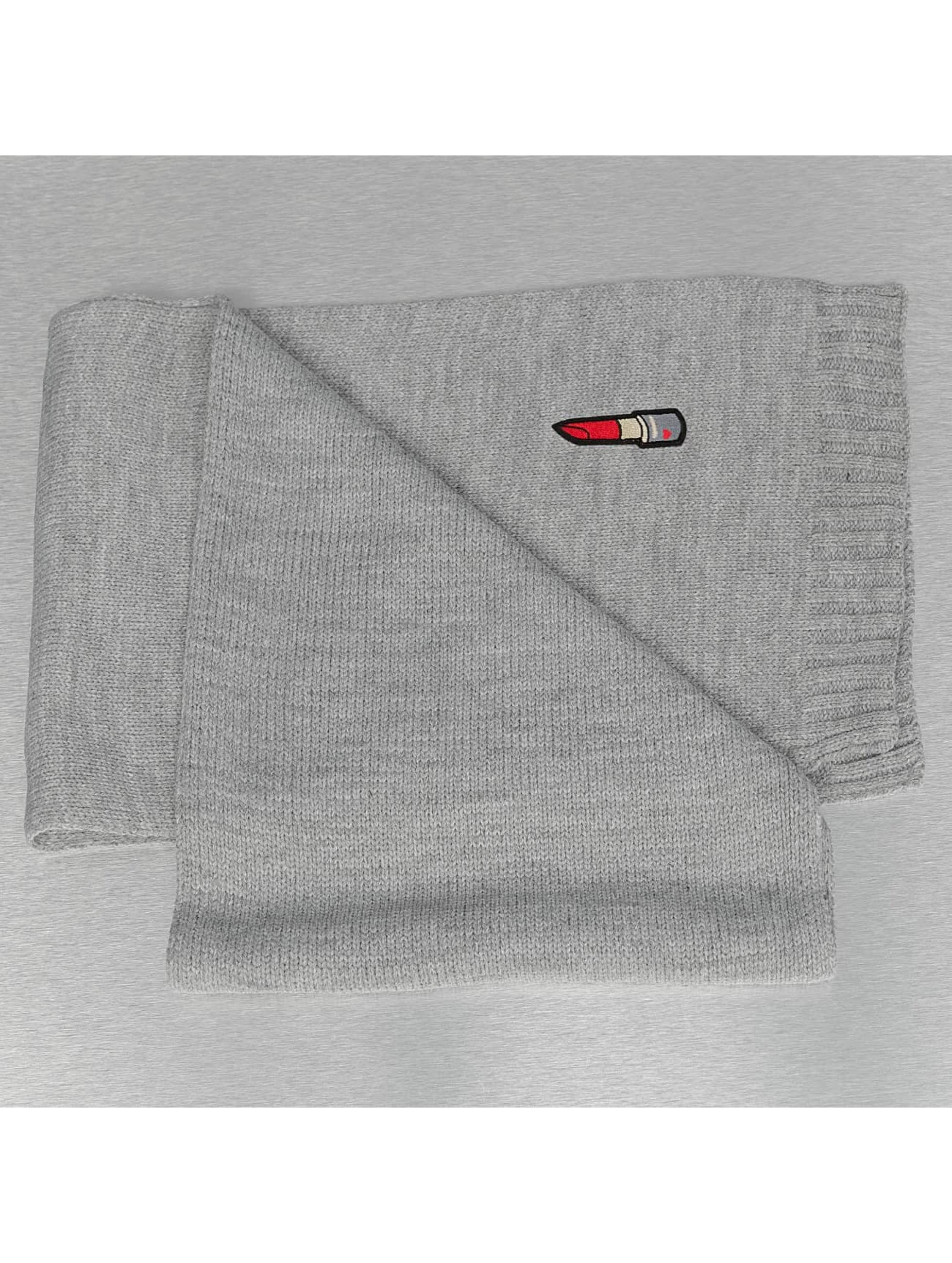 Pieces Шарф / платок pcViga серый