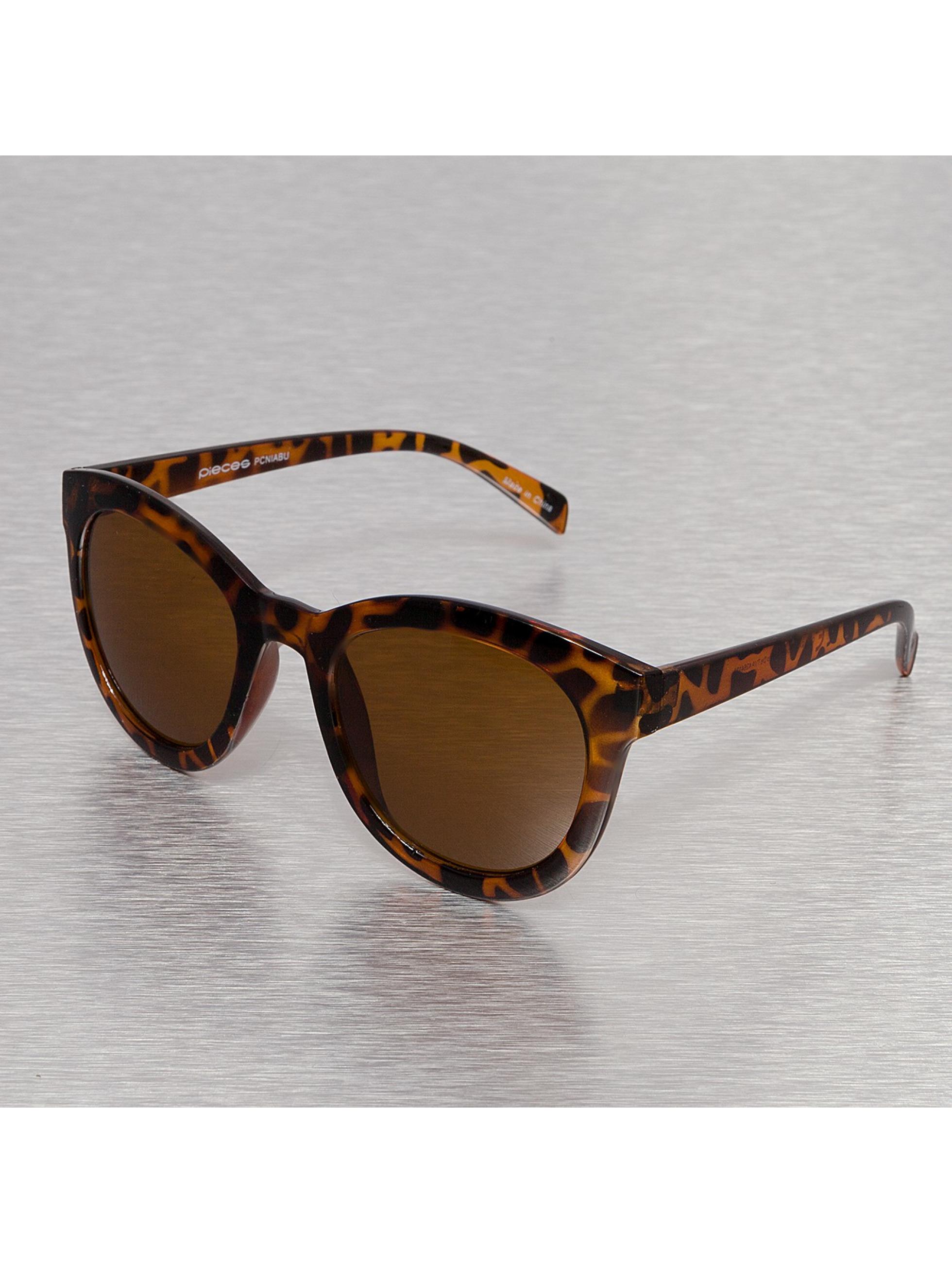 Pieces Aurinkolasit Niabu ruskea