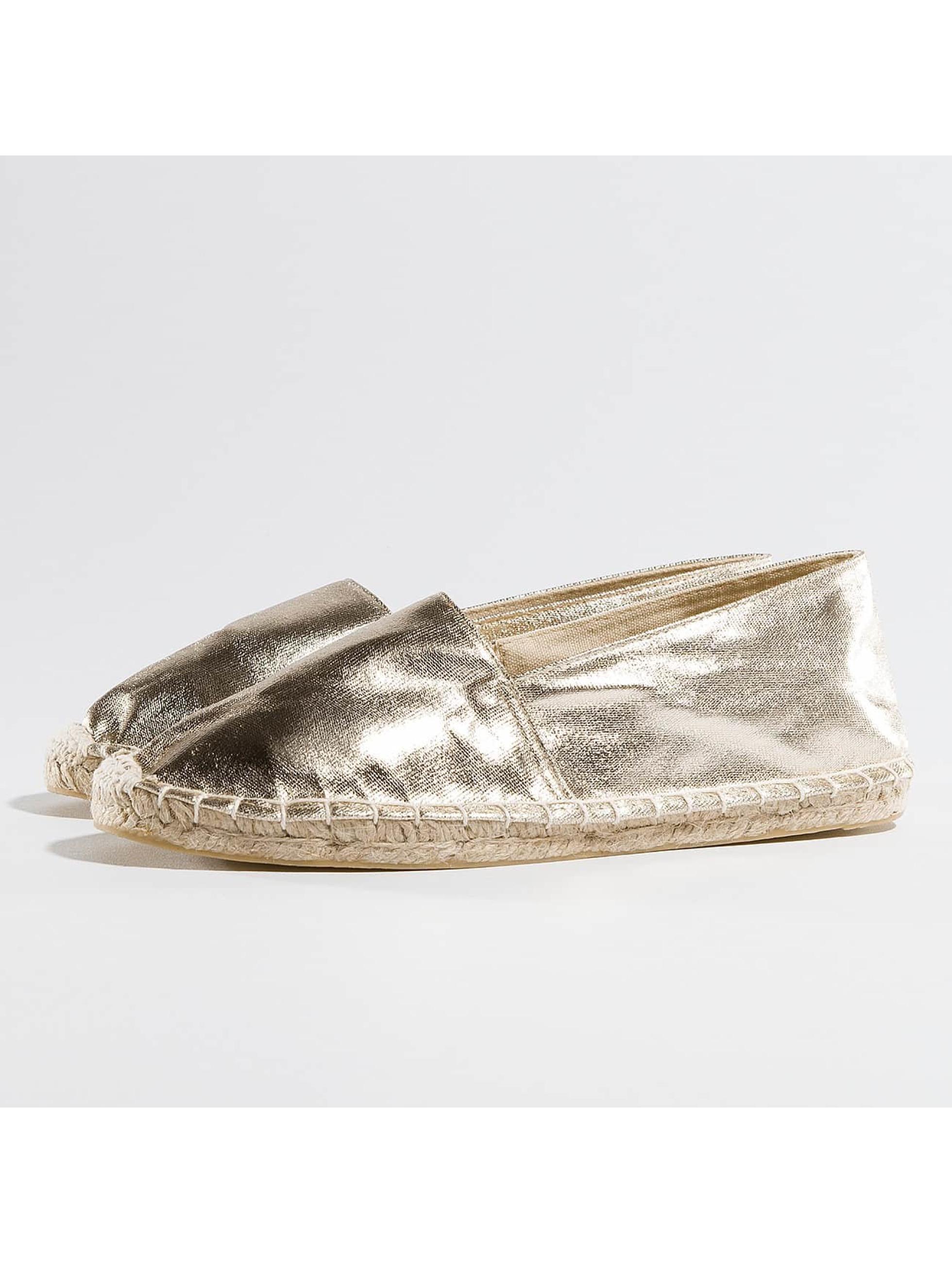 Pieces Chaussures / Ballerine Haisha en or