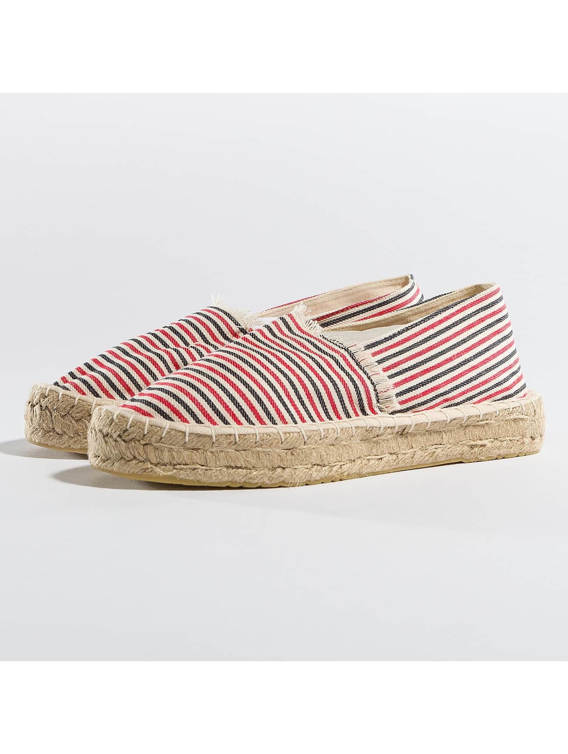 Pieces Chaussures / Ballerine PSHaila en rouge