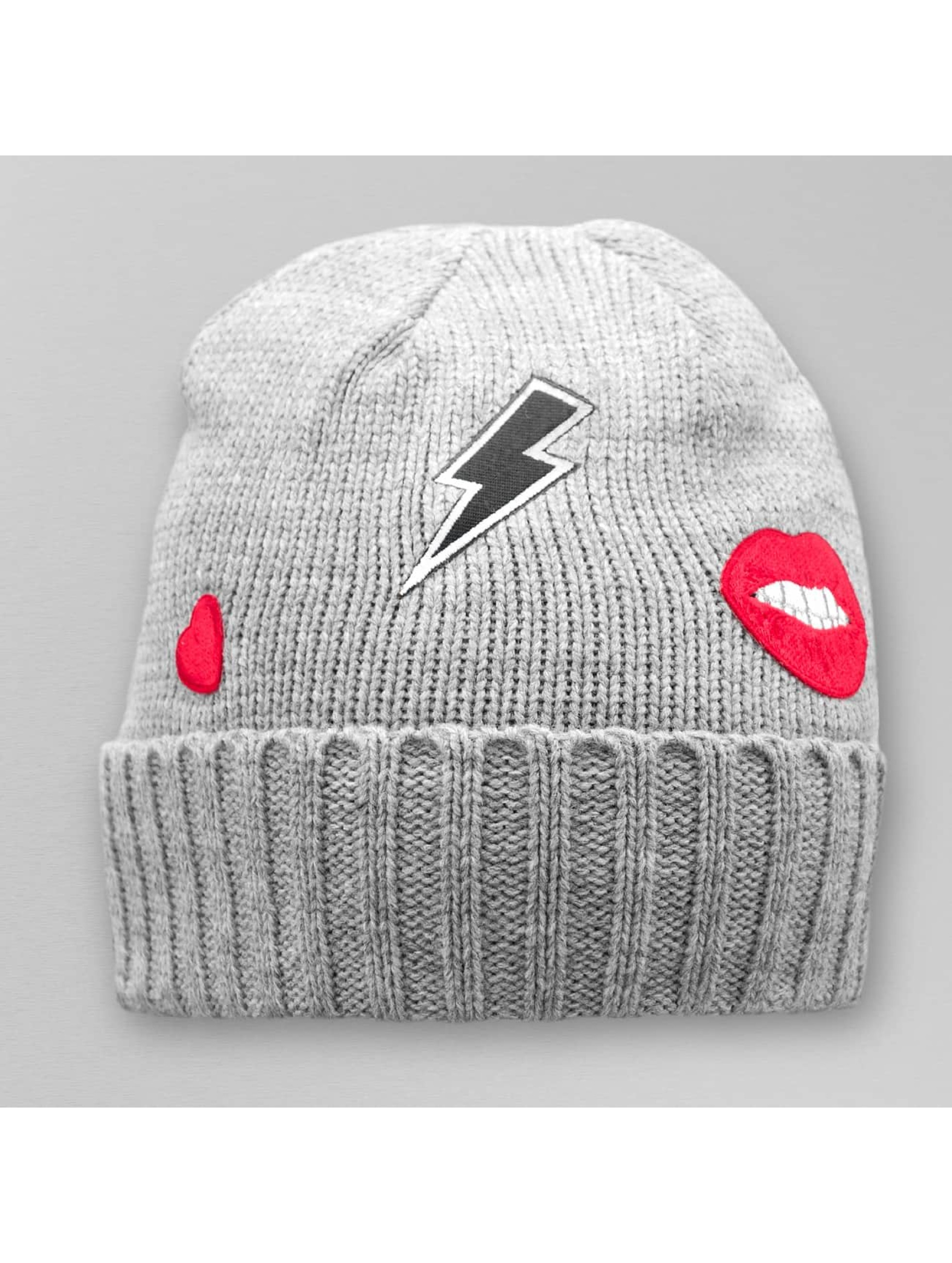 Pieces Beanie pcViga grey