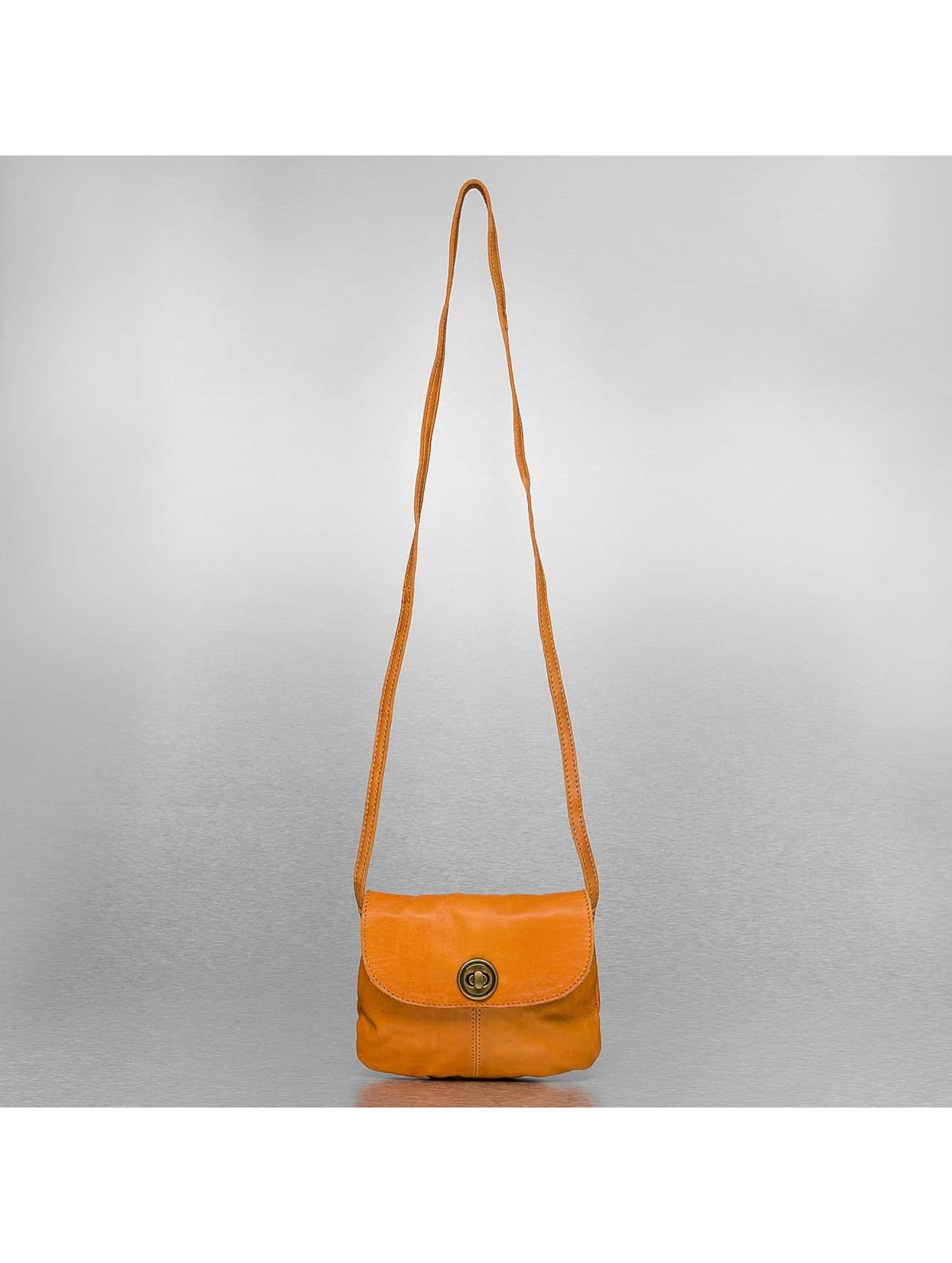Pieces Borsa Totally Royal Leather Party marrone