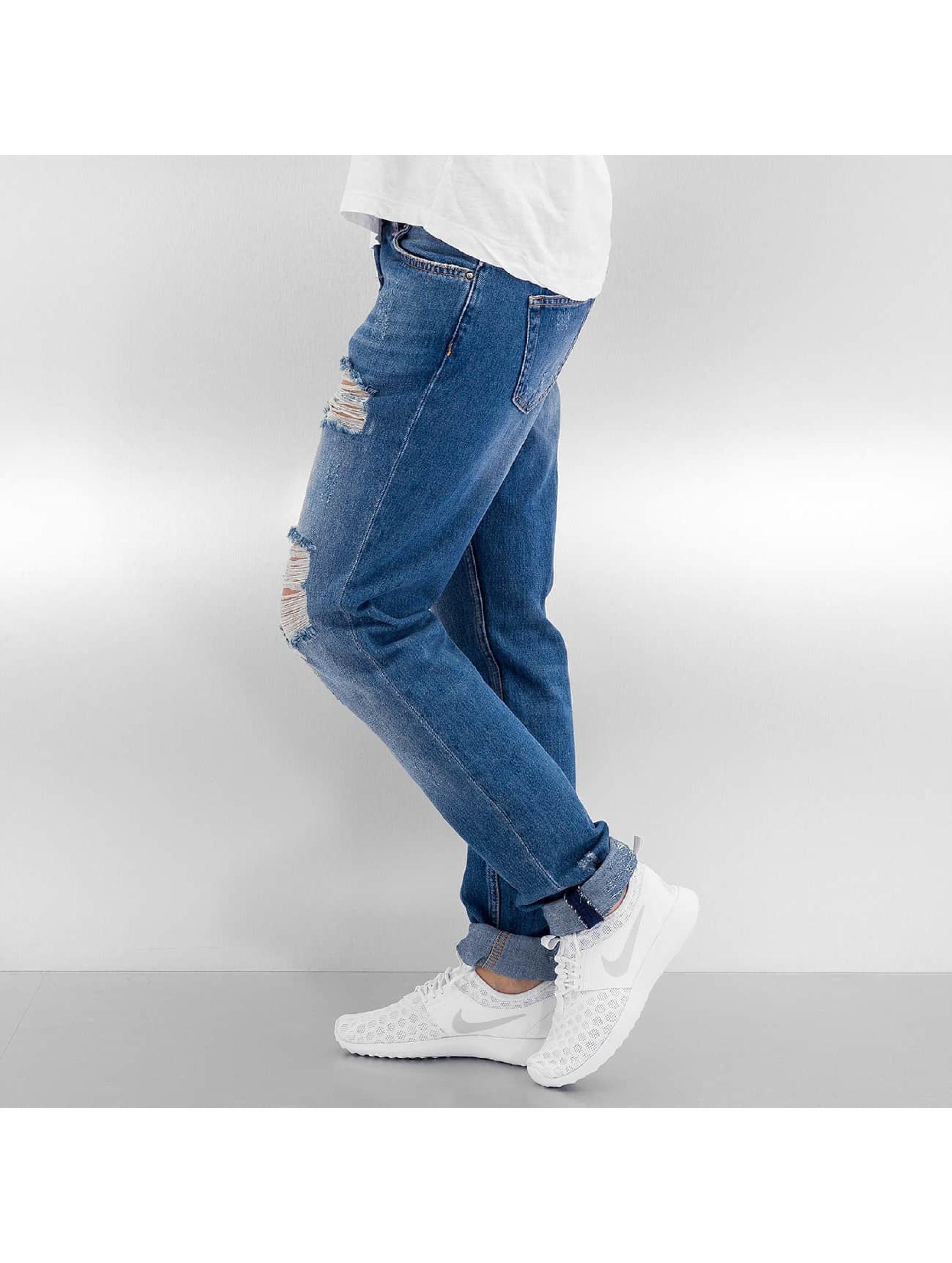 Pieces Boyfriend jeans pcCaroline blauw