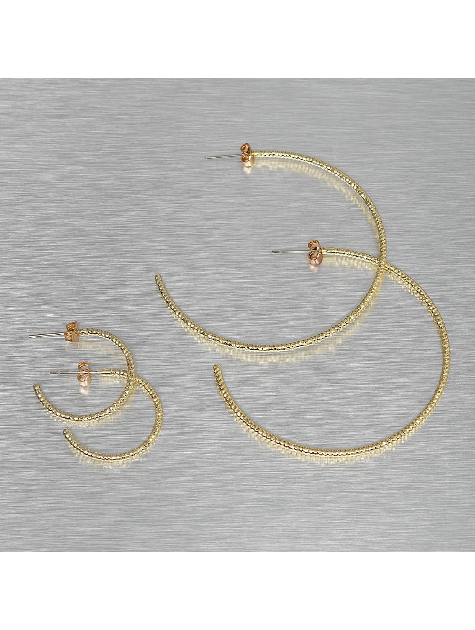 Pieces Earring PCDenize gold colored