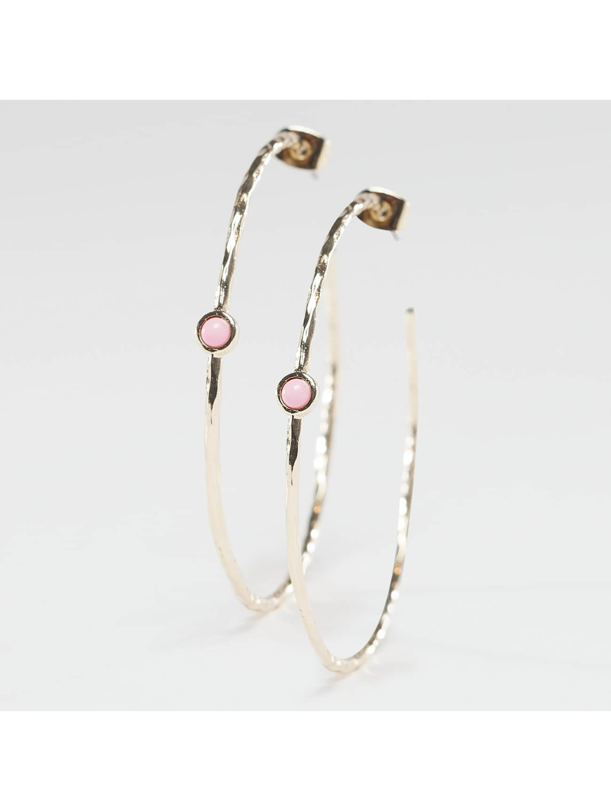 Pieces Earring pcNuuk Creaol gold colored