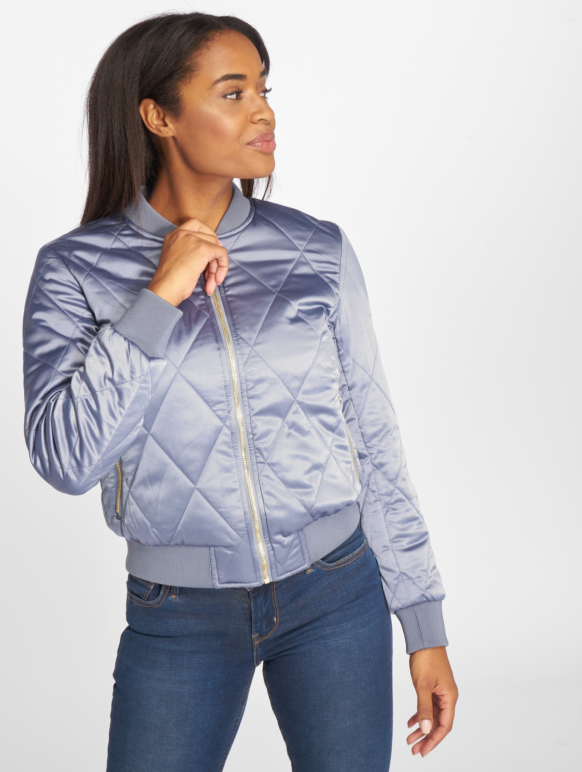 Pieces Giubbotto Bomber PCHaley blu