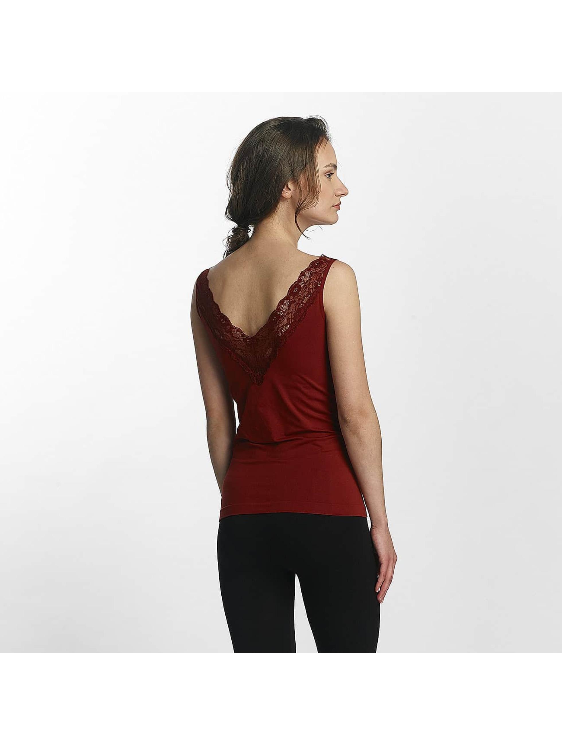 Pieces Hihattomat paidat pcLoa punainen