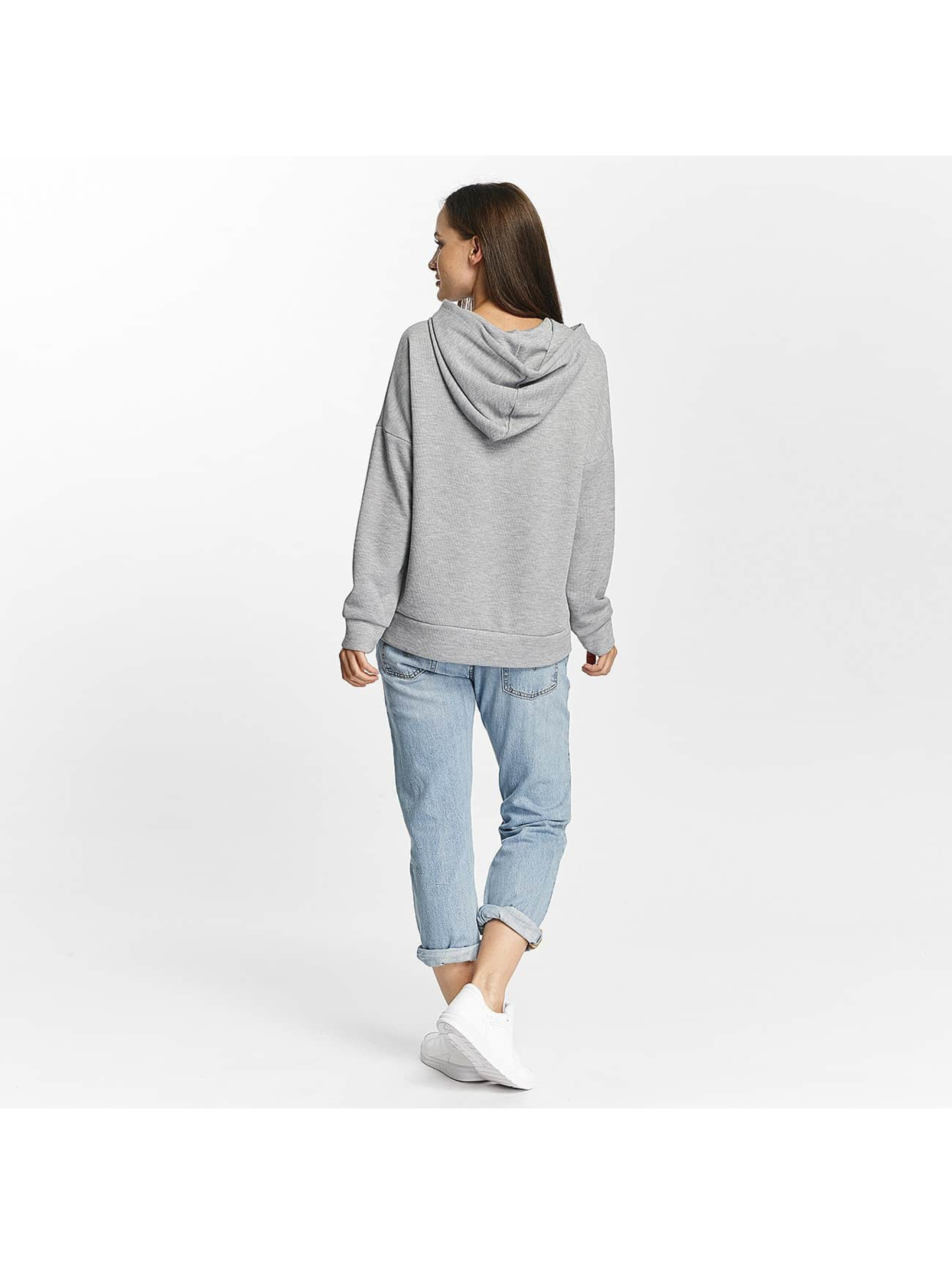 Pieces Hoodies pcCille grå