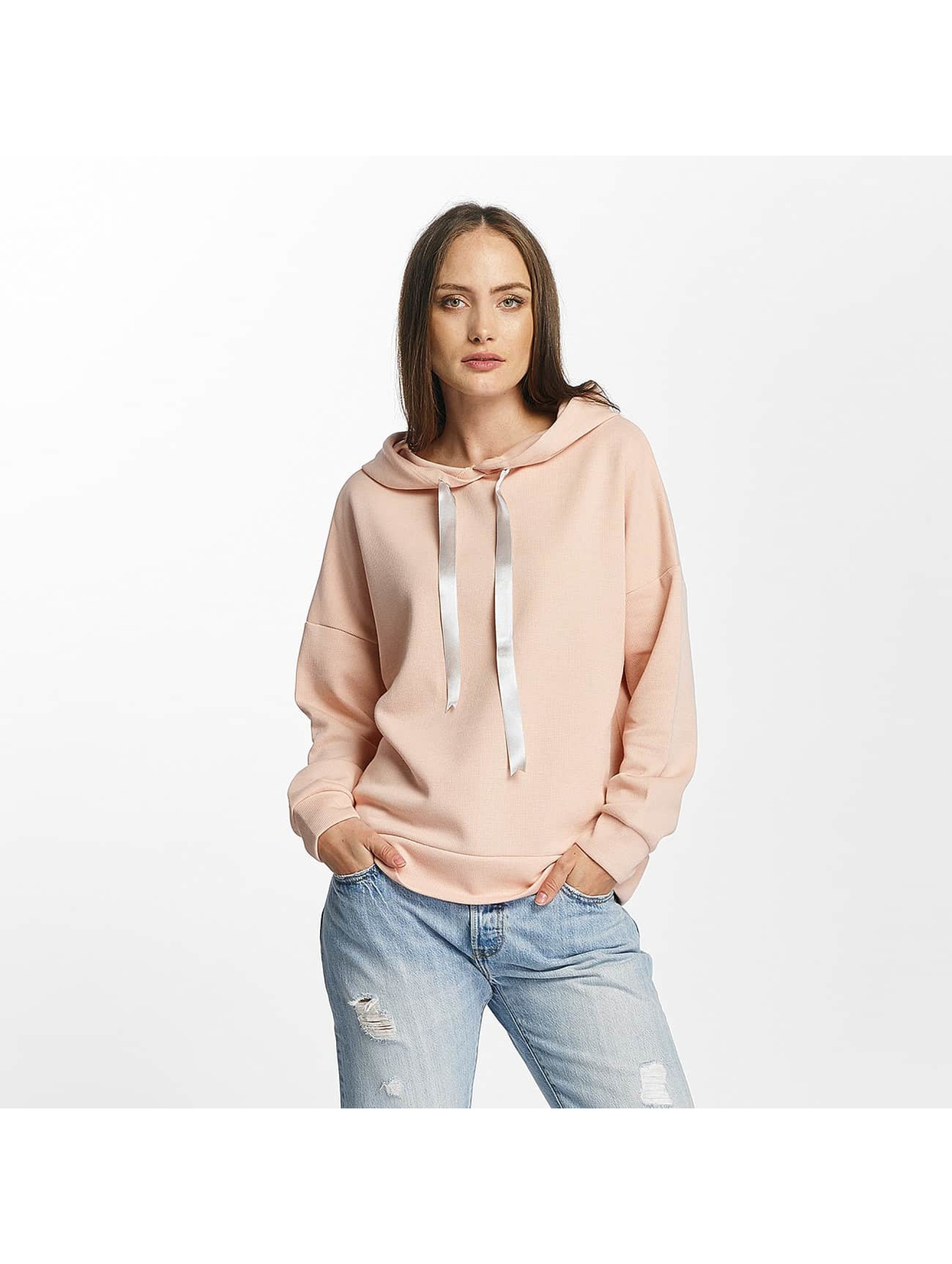 Pieces Hoodies pcCille růžový