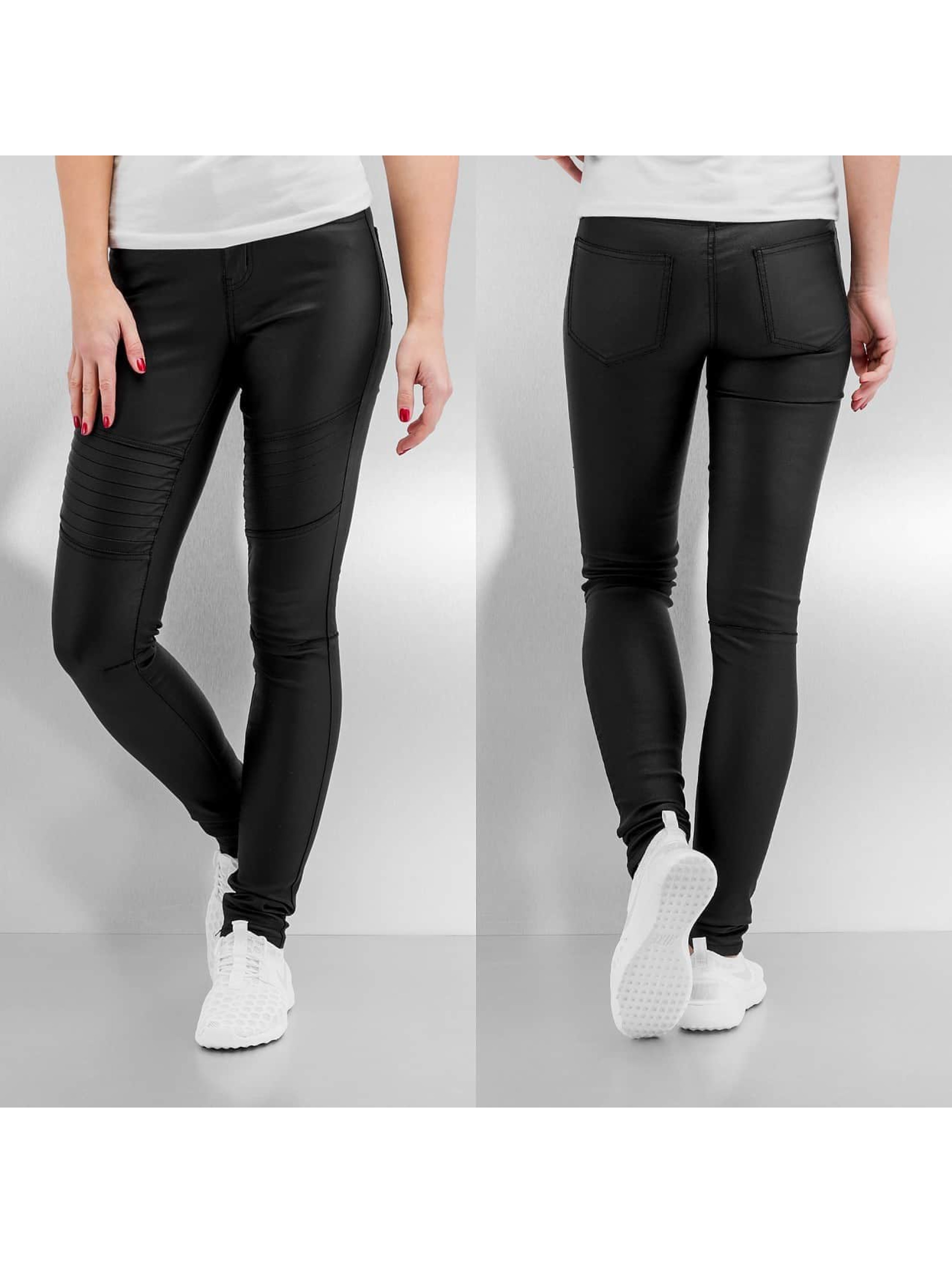 Pieces Legging pcJust New Coated noir