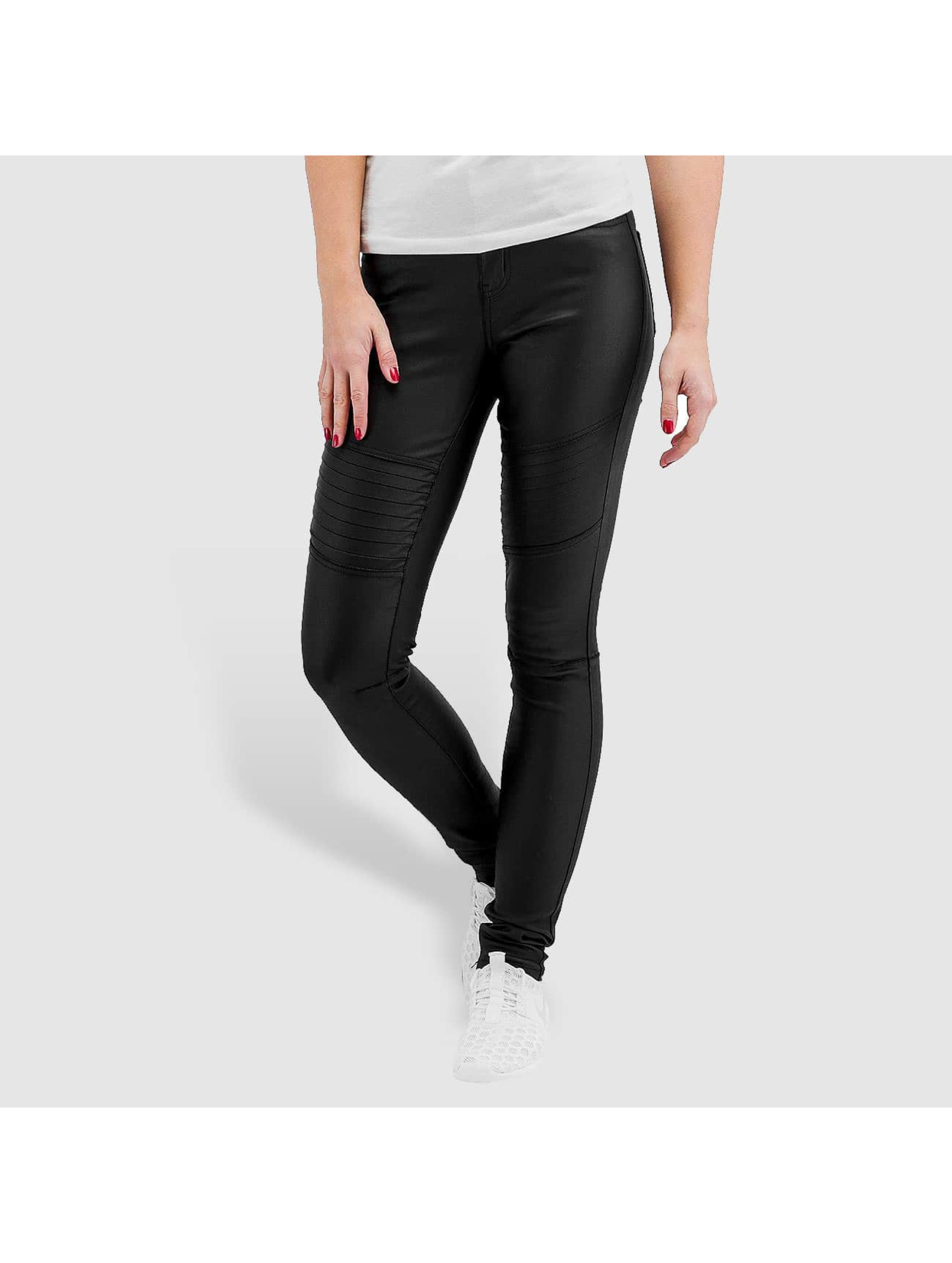 Pieces Legging pcJust New Coated schwarz