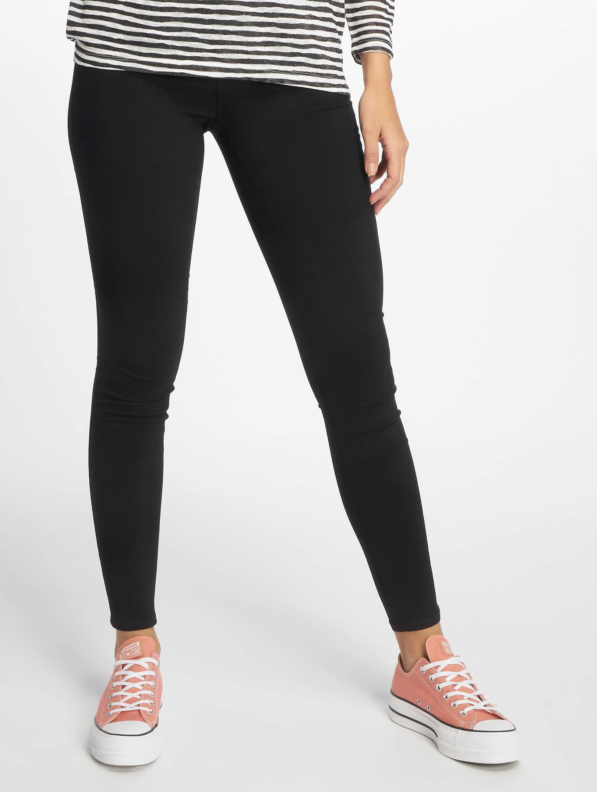 Pieces Leggings/Treggings pcSkin black