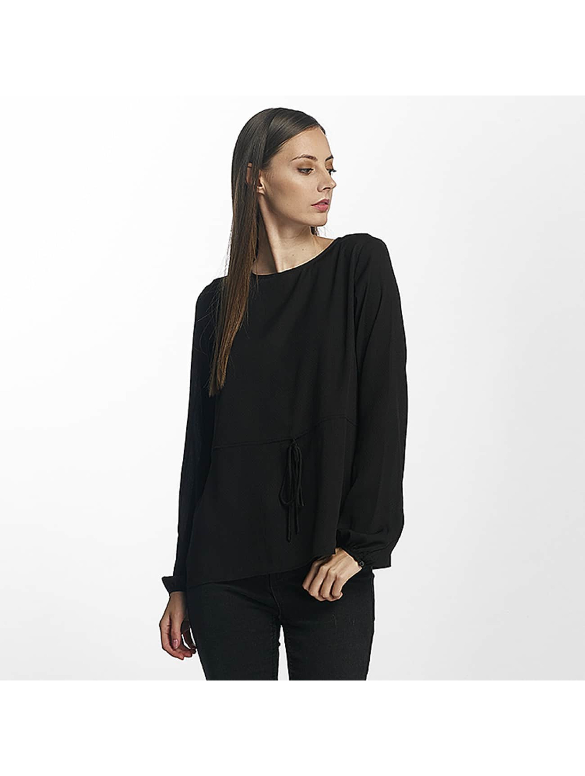 Pieces Longsleeve pcMacy zwart
