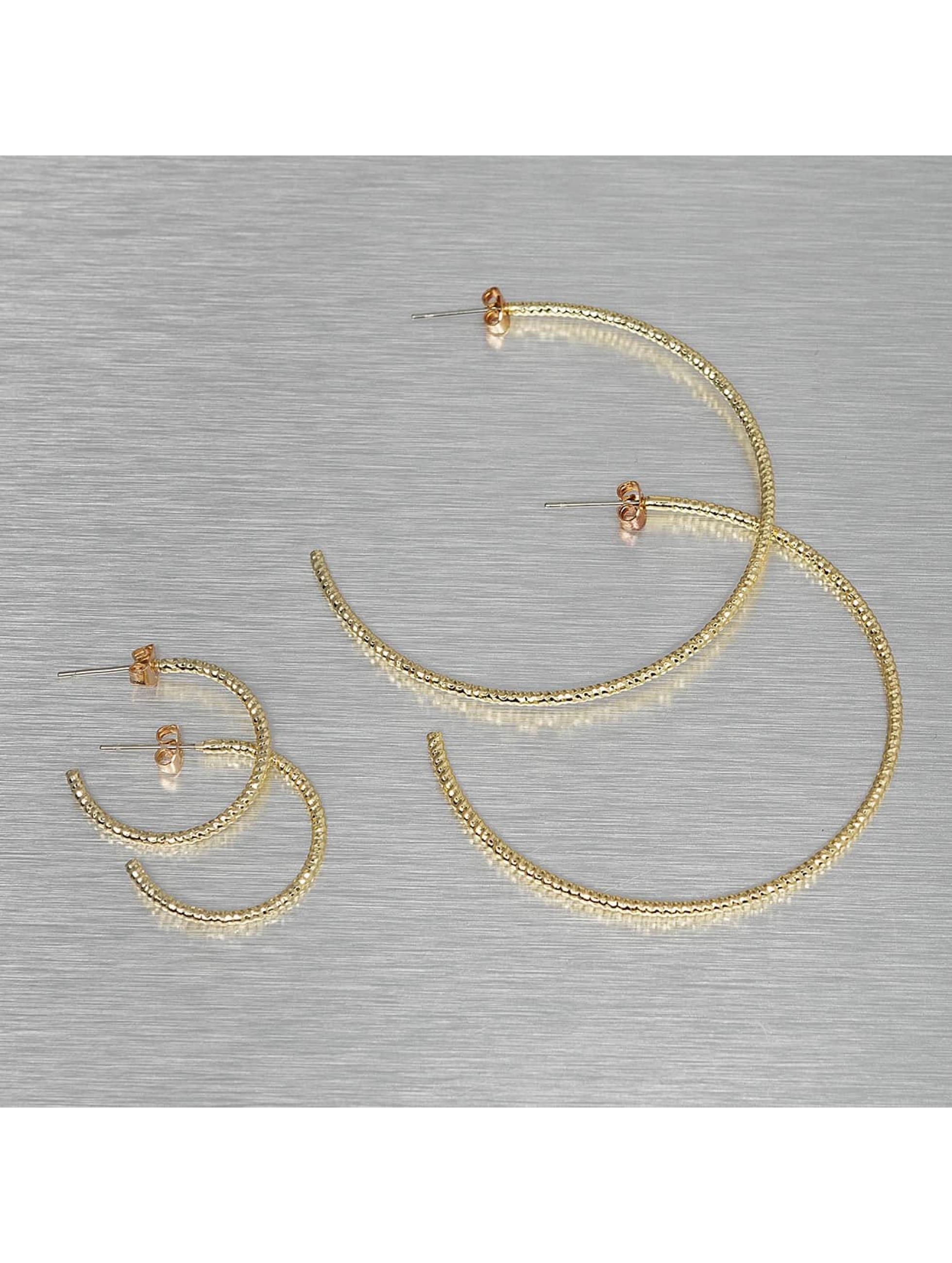 Pieces Náušnice PCDenize zlatá