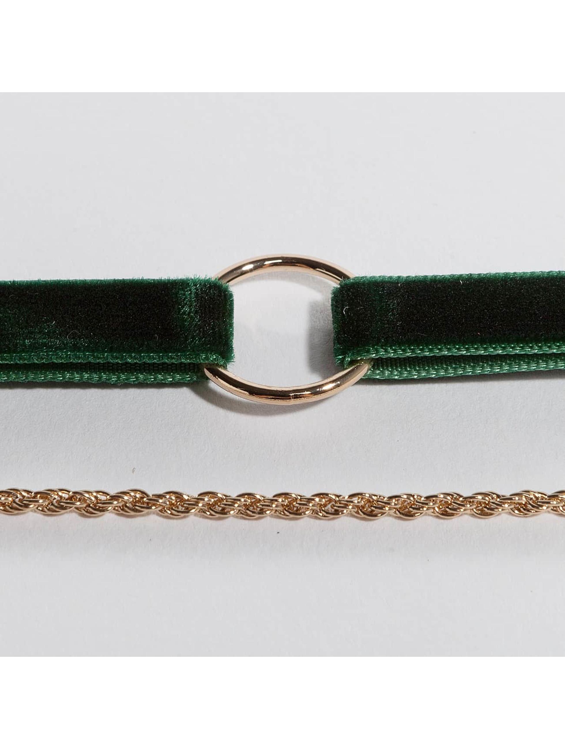 Pieces Necklace pcNovana green