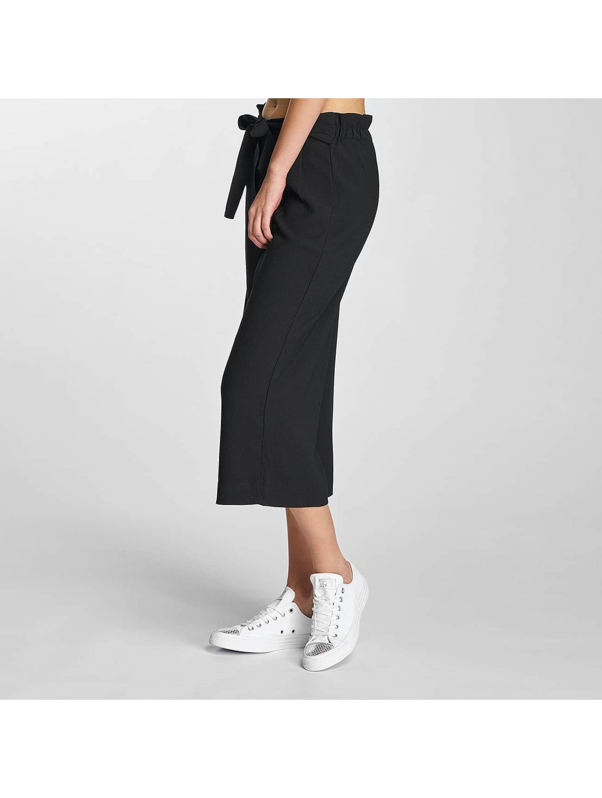 pieces pcsavannah noir femme pantalon chino 315272. Black Bedroom Furniture Sets. Home Design Ideas