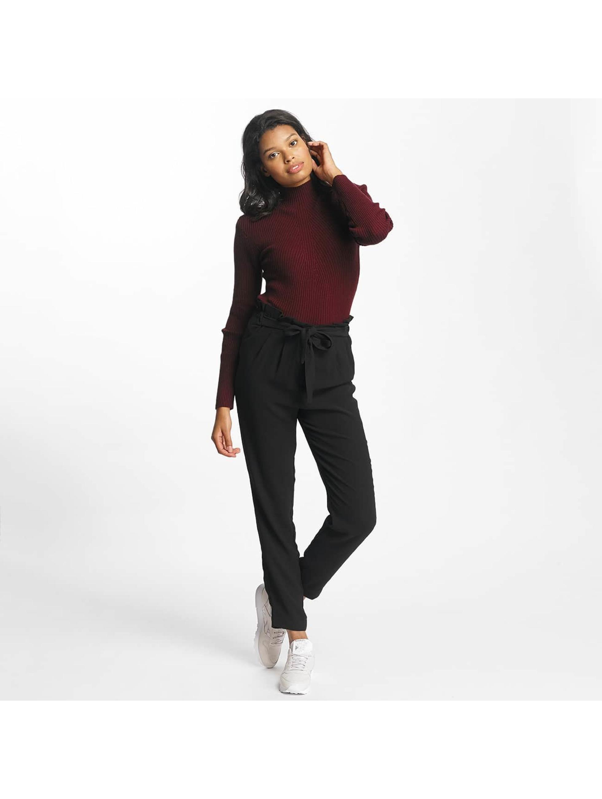 pieces pcsavannah noir femme pantalon chino pieces acheter pas cher pantalon 359058. Black Bedroom Furniture Sets. Home Design Ideas