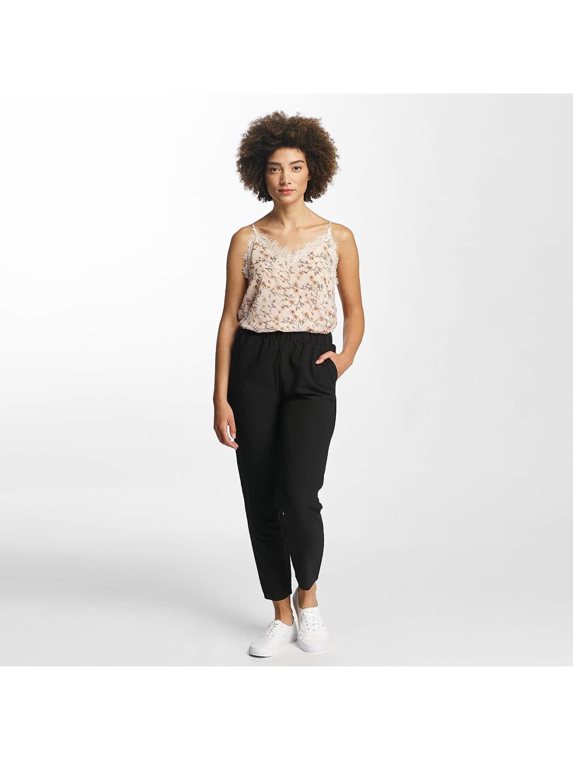 pieces pcnadema noir femme pantalon chino 359064. Black Bedroom Furniture Sets. Home Design Ideas
