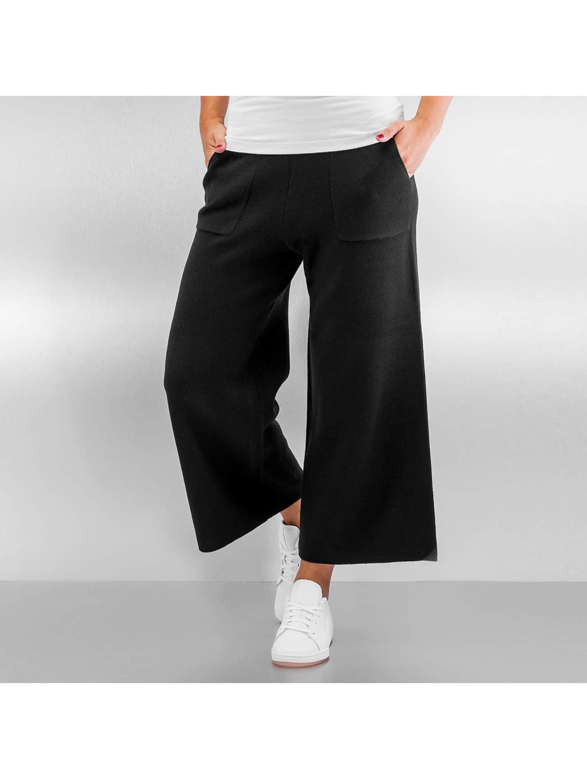 Pieces Pantalone chino pcDorthea Culotte nero