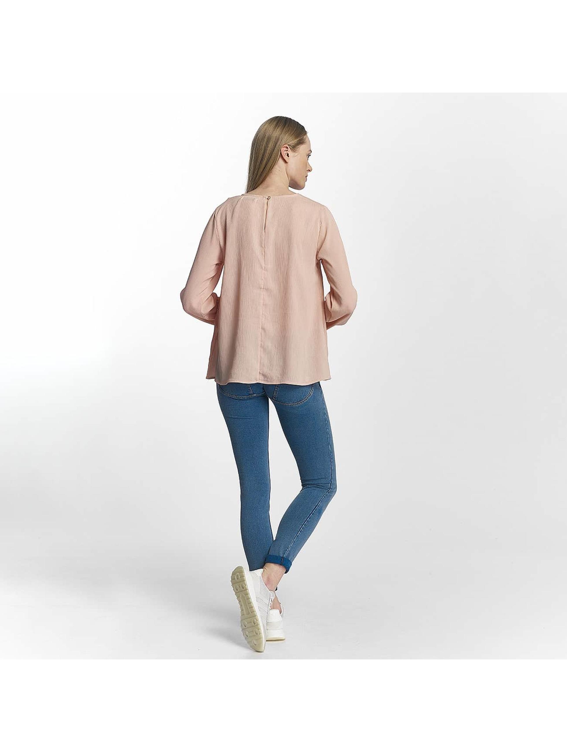 Pieces Pitkähihaiset paidat pcMacy roosa
