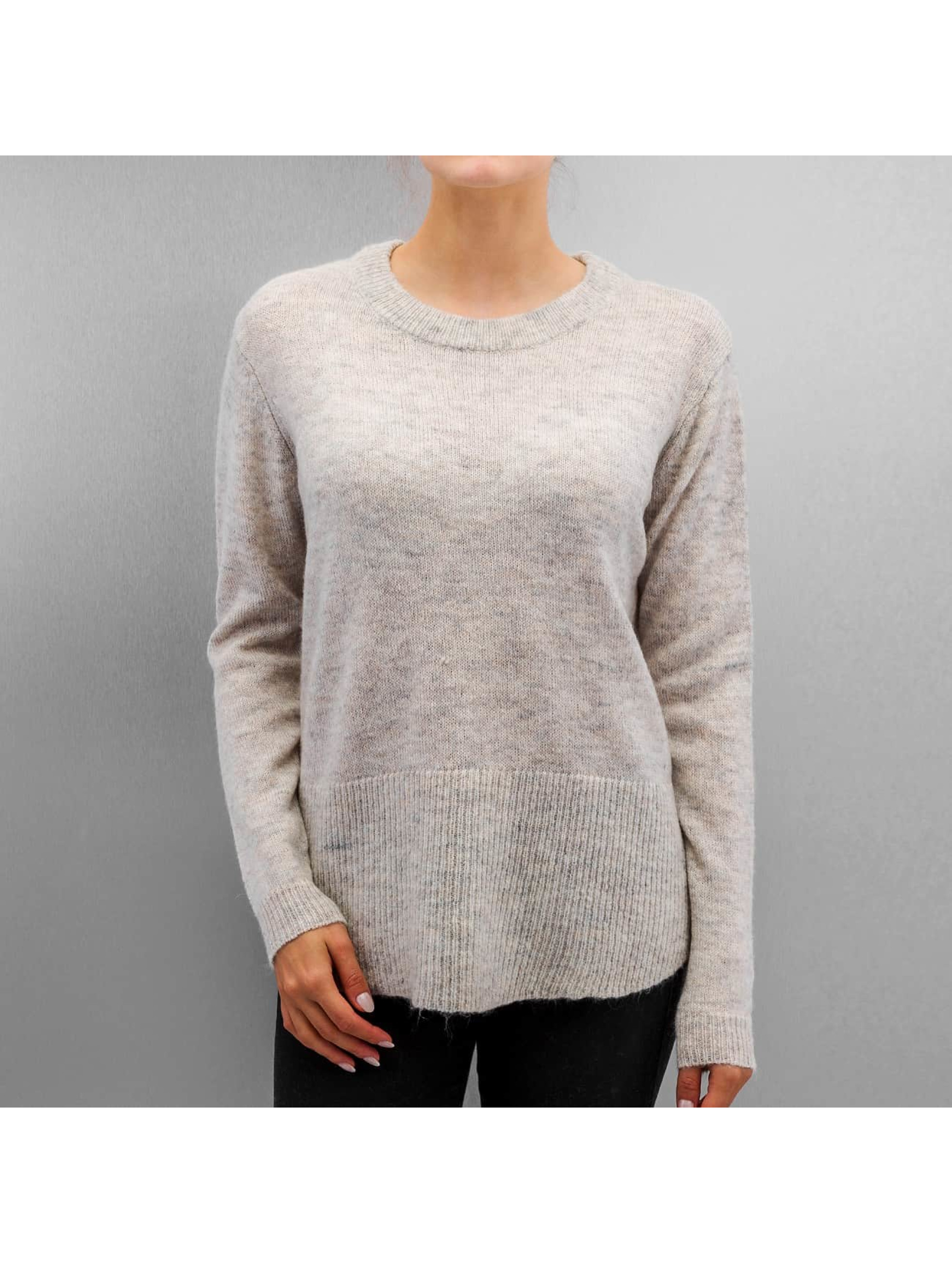 Pullover PCDanny Mohair Knit in grau