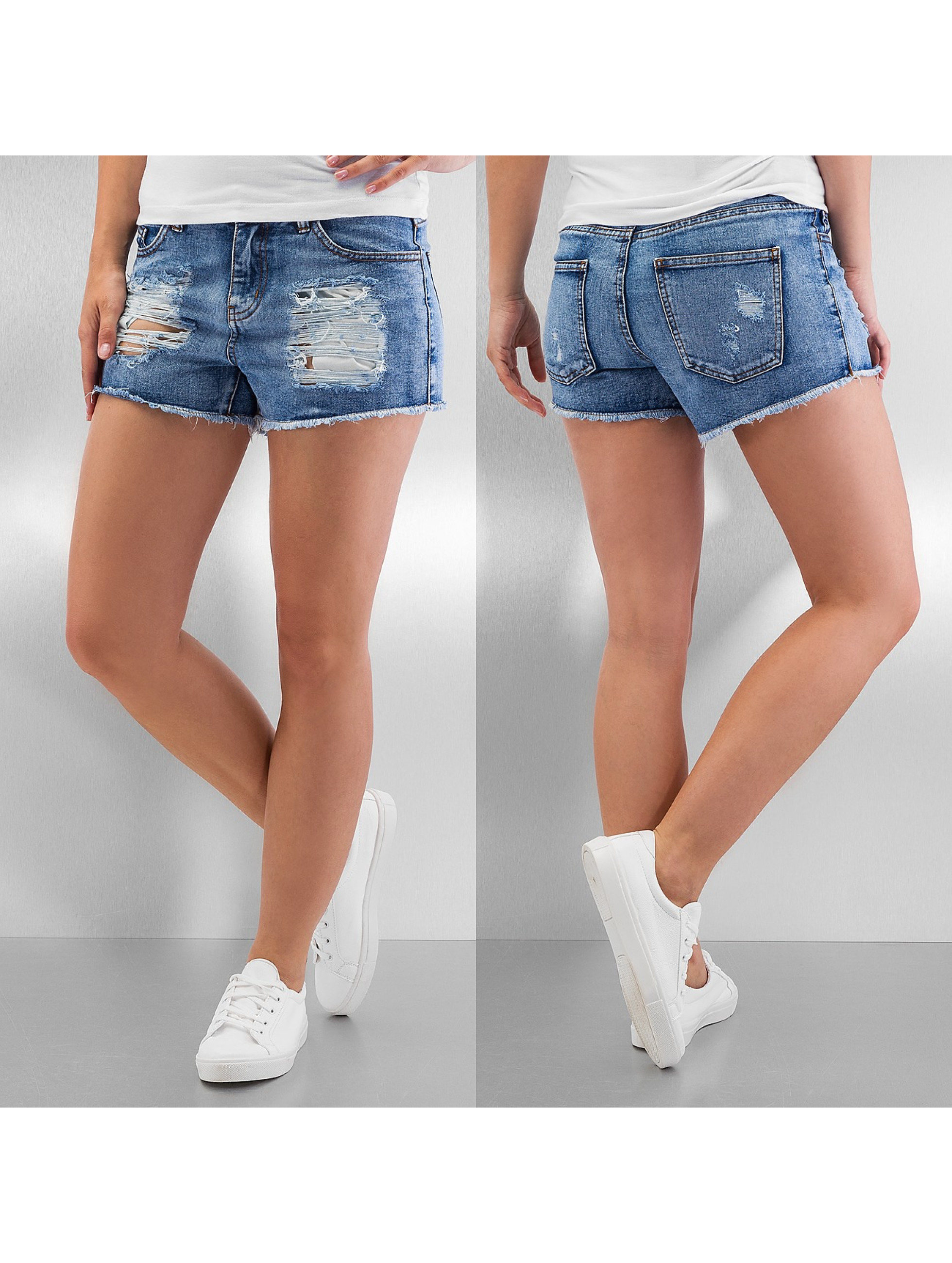 Pieces shorts pcJust Taylor blauw
