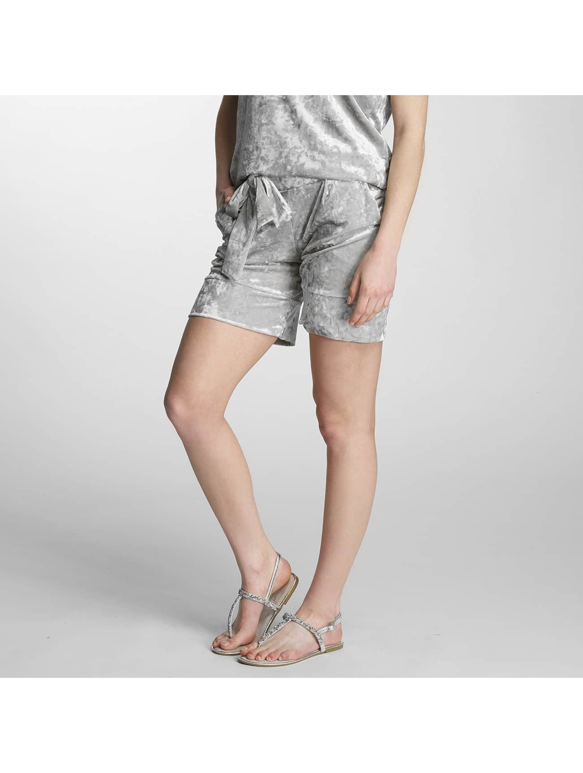 Pieces Shorts pcEdith silberfarben
