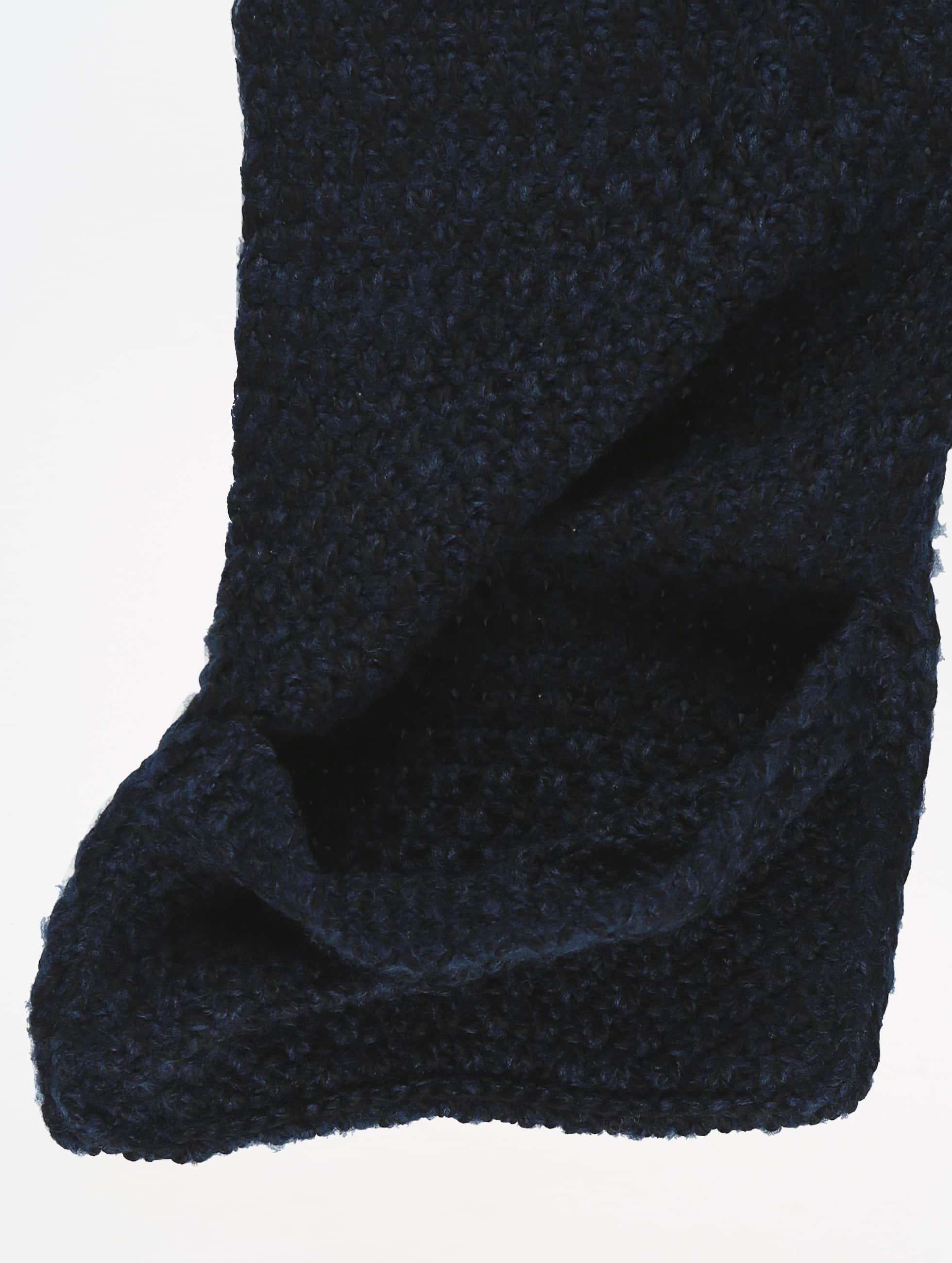 Pieces sjaal Kazy Long blauw
