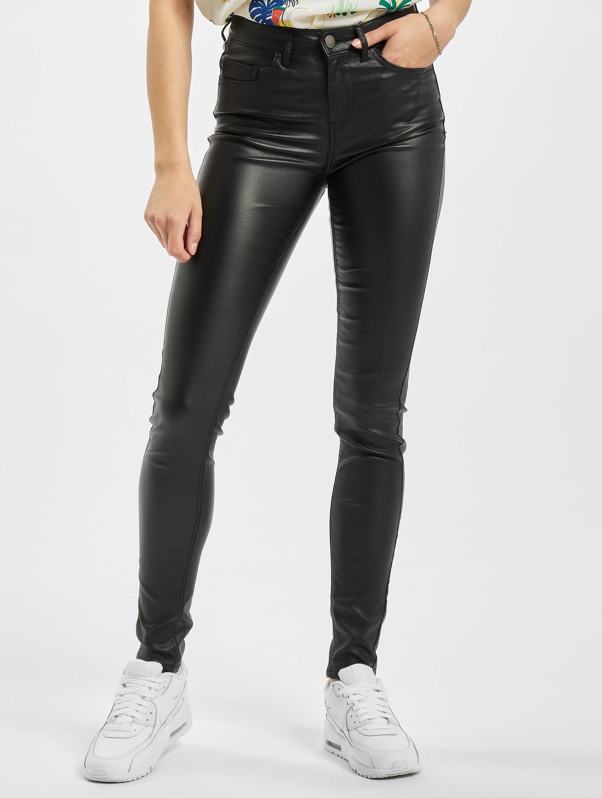 Pieces Skinny Jeans PCFive Betty black