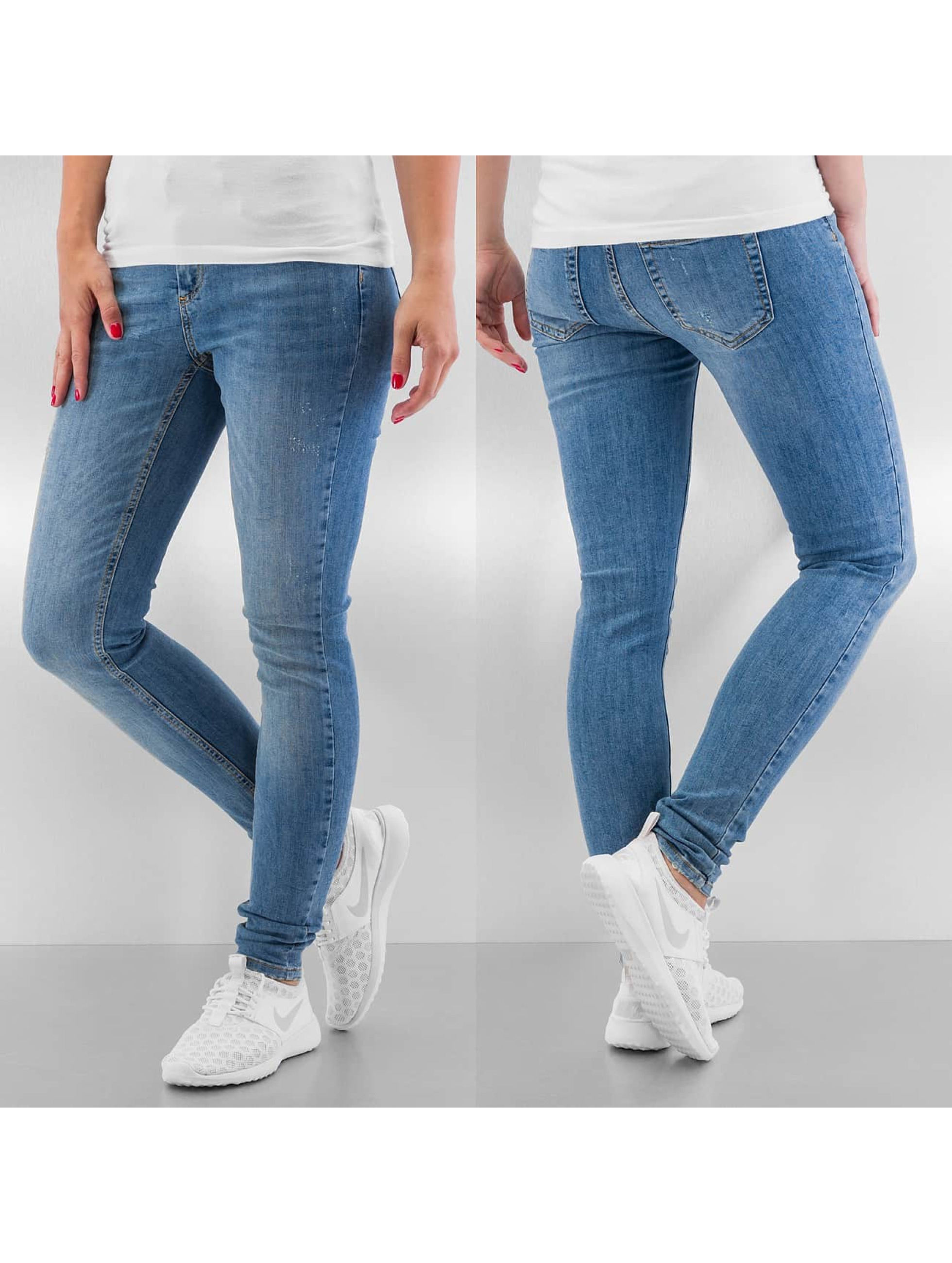 Pieces Skinny Jeans pcJust New Delly blau