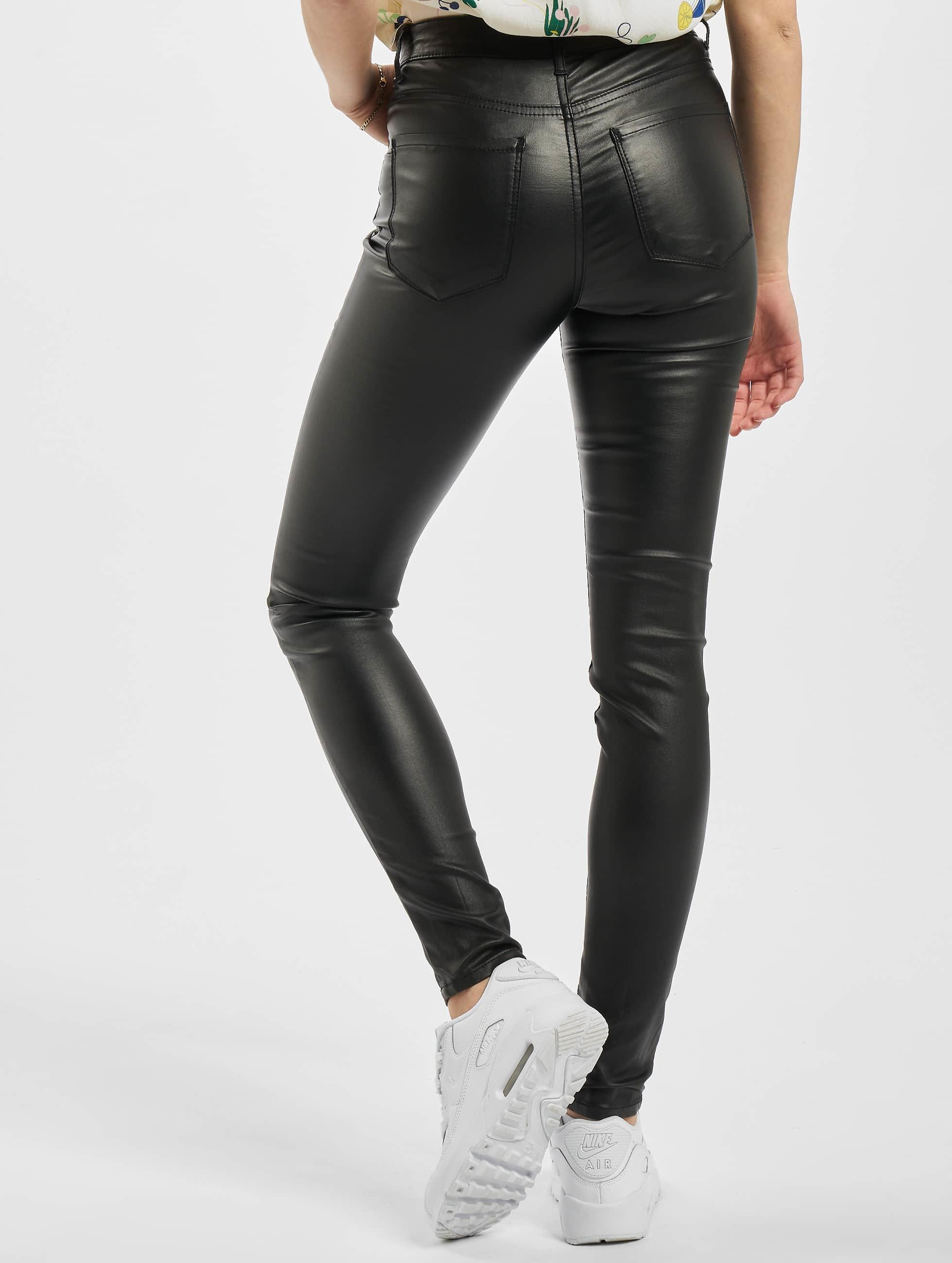 Pieces Skinny Jeans PCFive Betty czarny