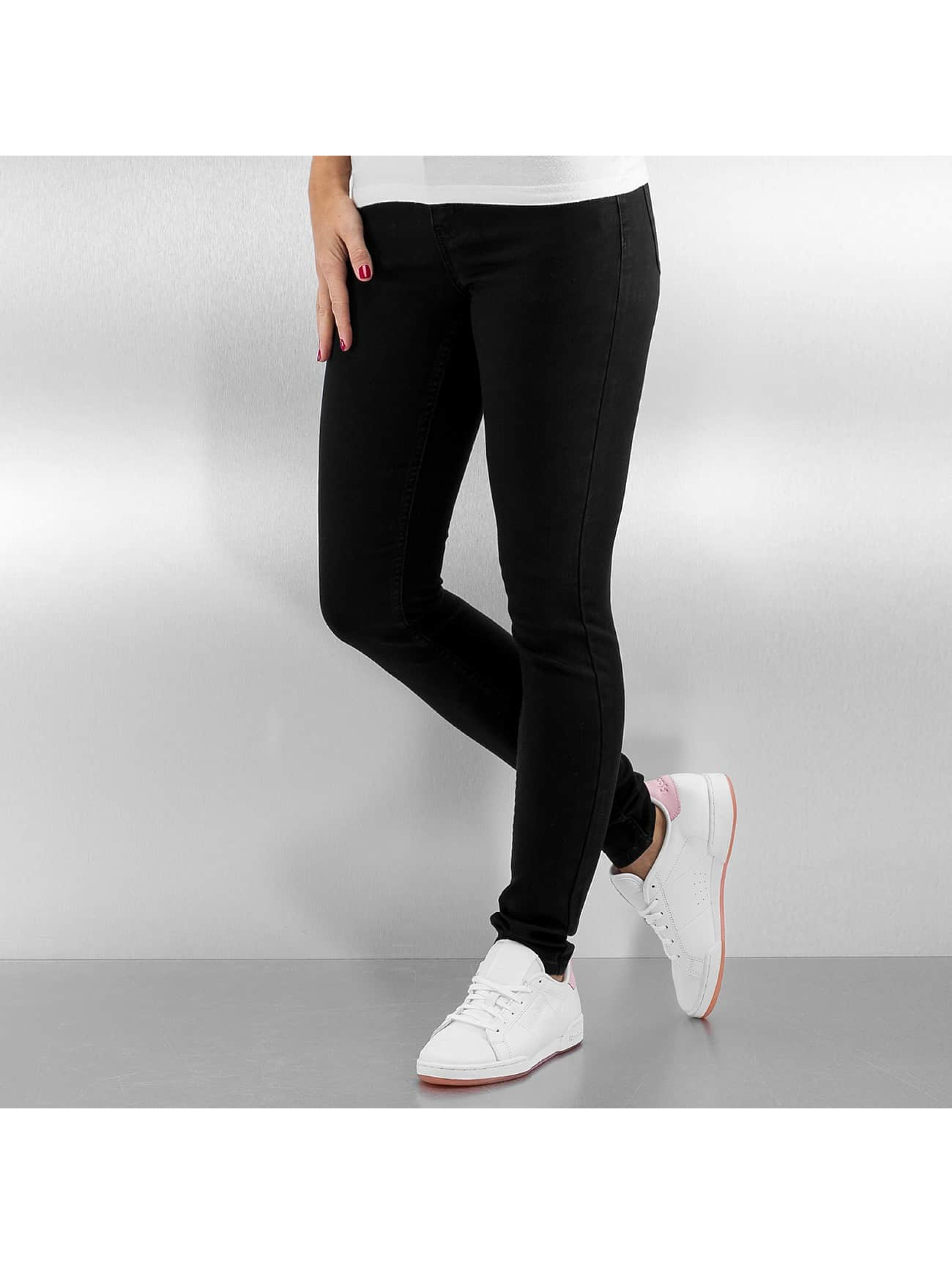Pieces Skinny jeans pcBetty svart