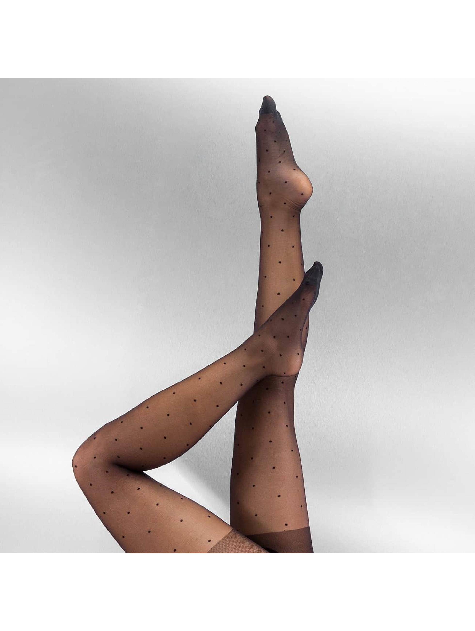 Socken/Strumpfhosen PCDots in schwarz