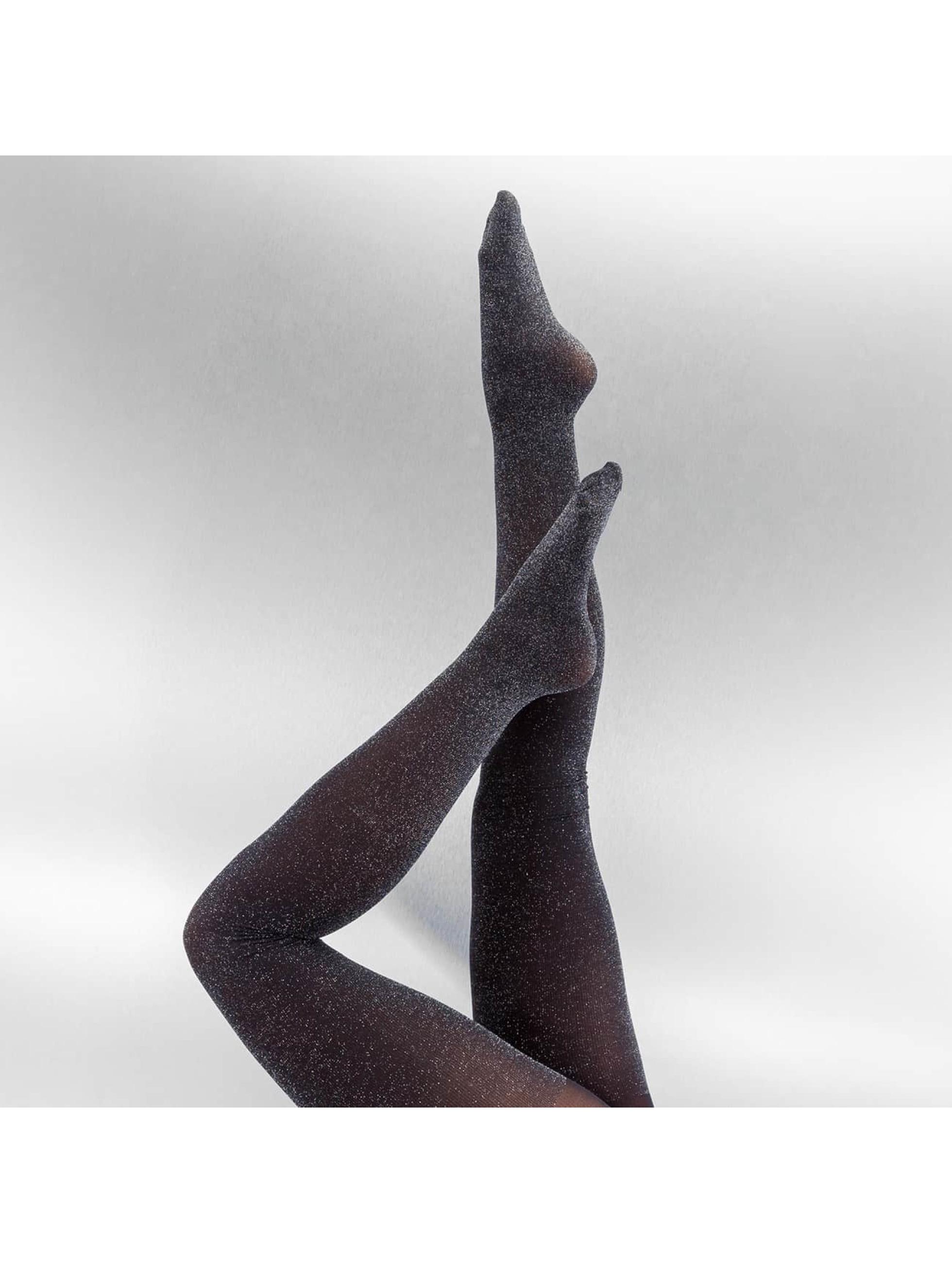 Pieces Socken/Strumpfhosen pcDora Glitter schwarz
