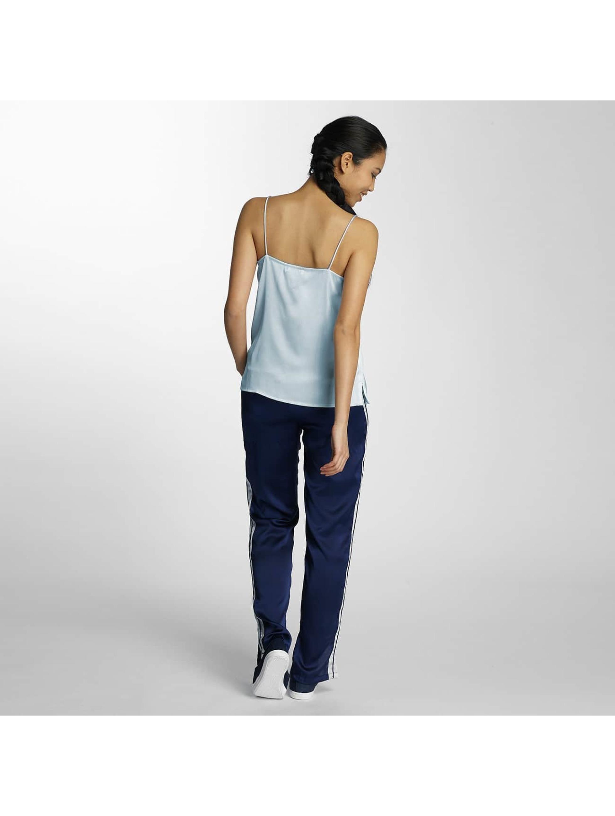 Pieces Spodnie wizytowe pcEVE niebieski