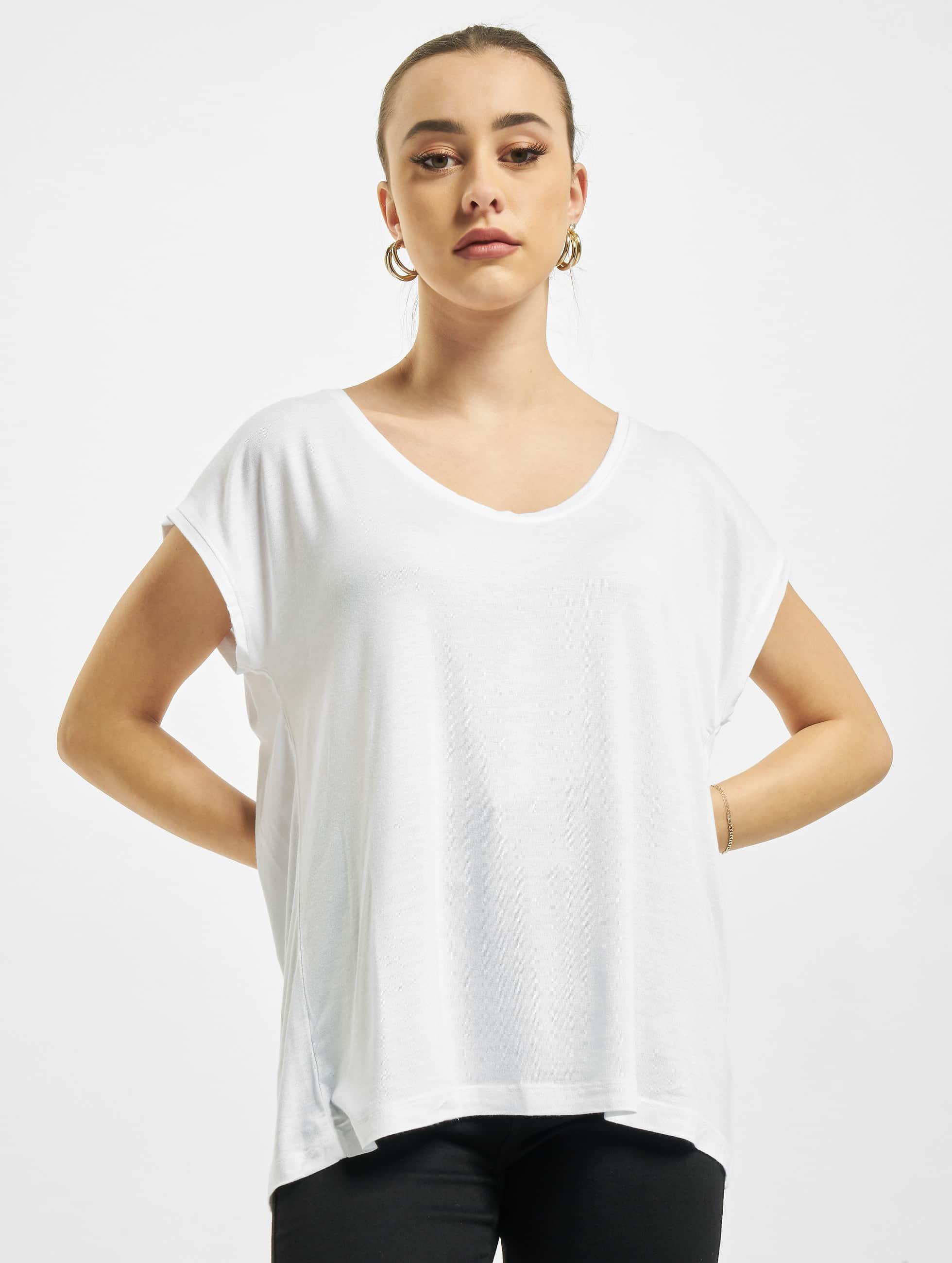 Pieces Haut / T-Shirt PCBillo Solid en blanc