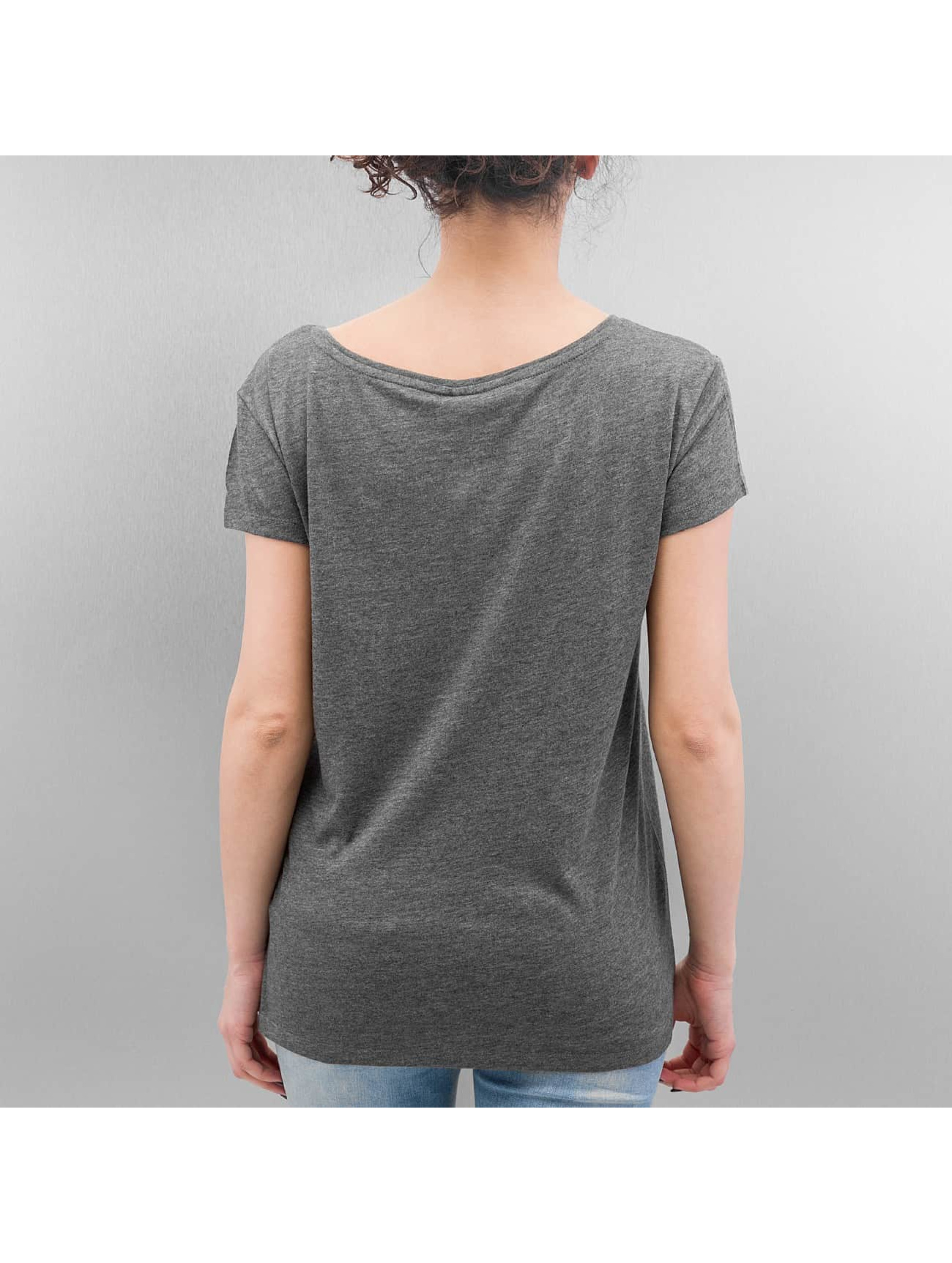 Pieces T-Shirt Emma grau
